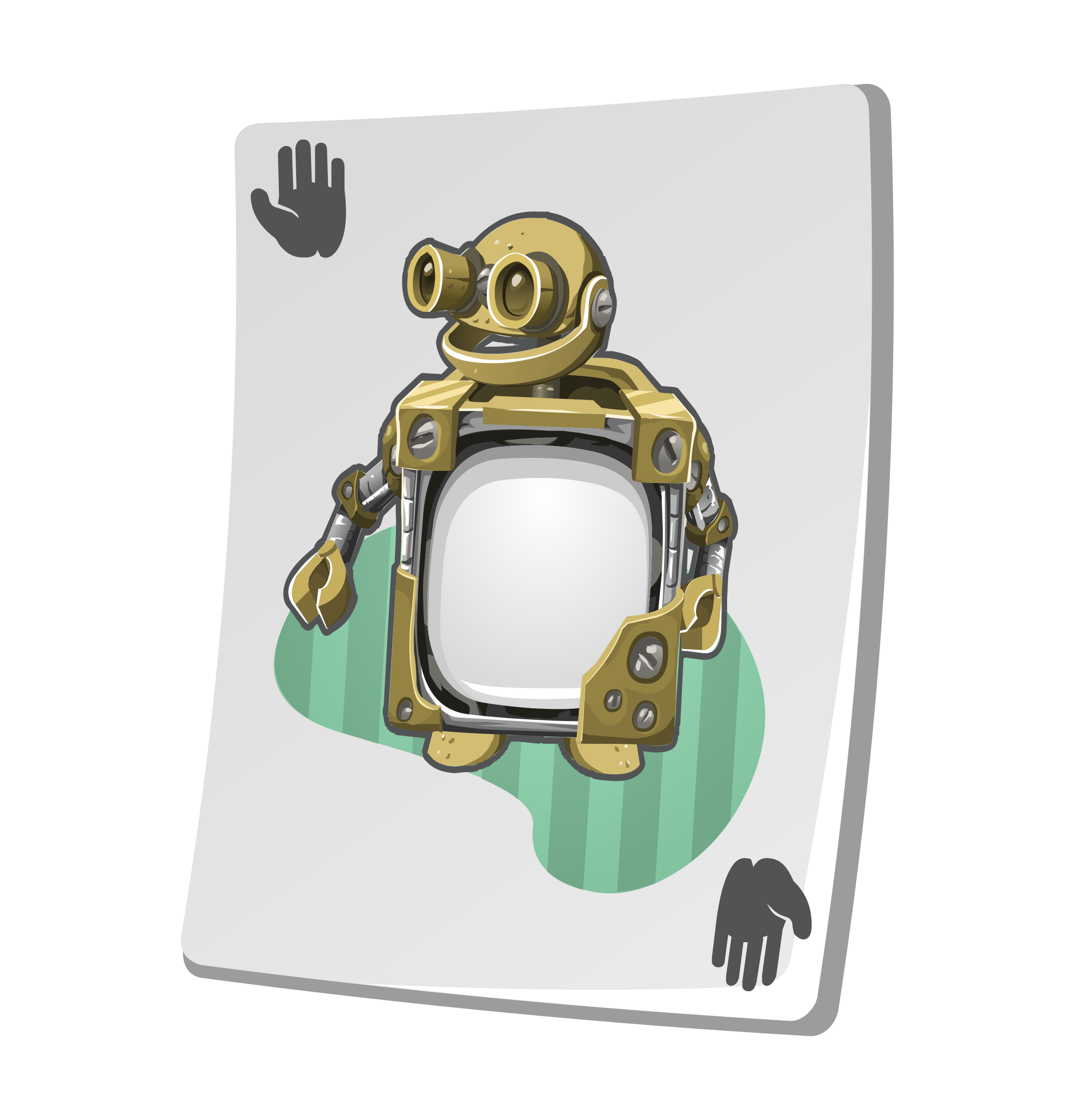 Misc Upgrade Card Craftybot Lesson by glitch