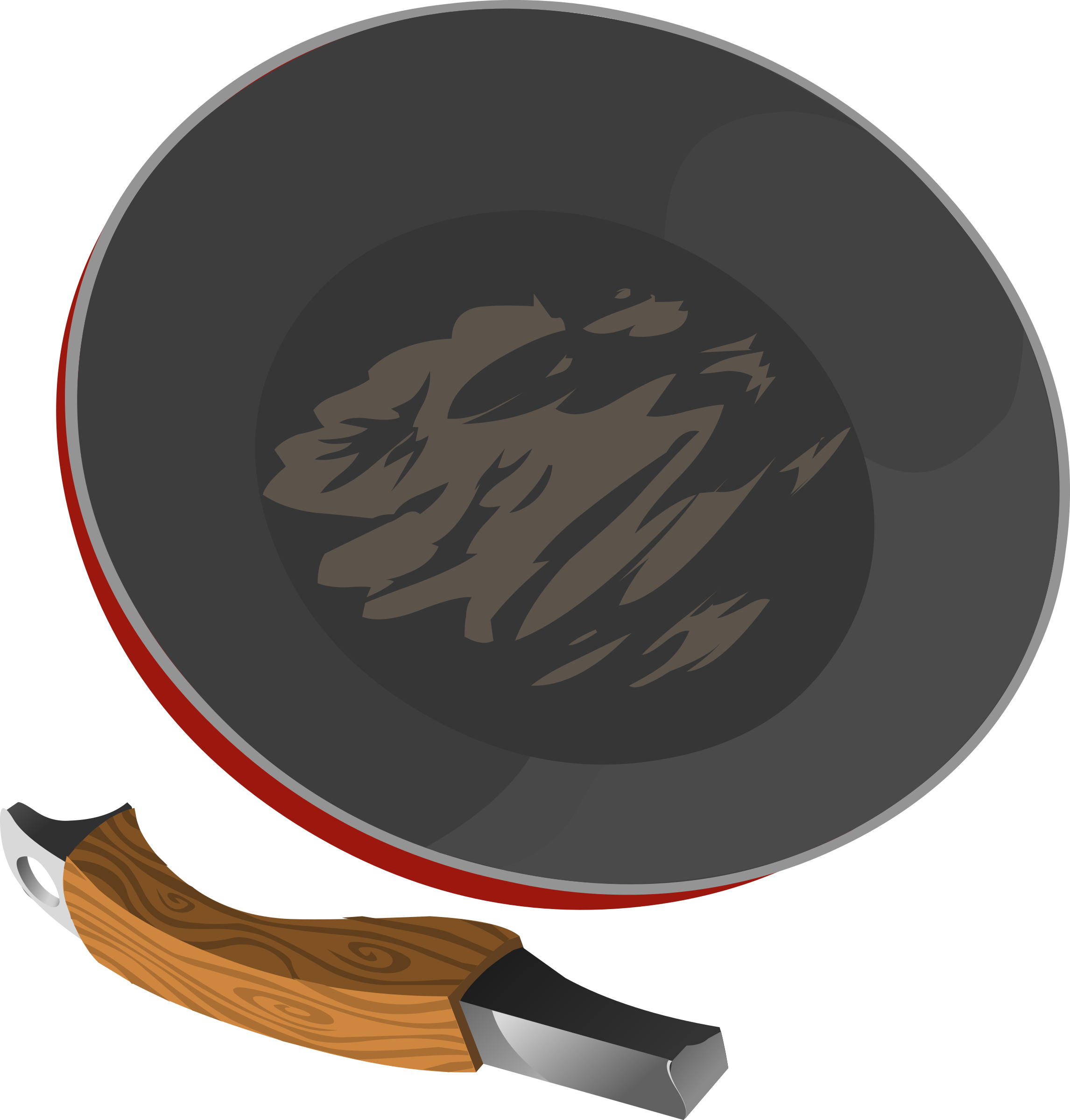 Tools Frying Pan by glitch