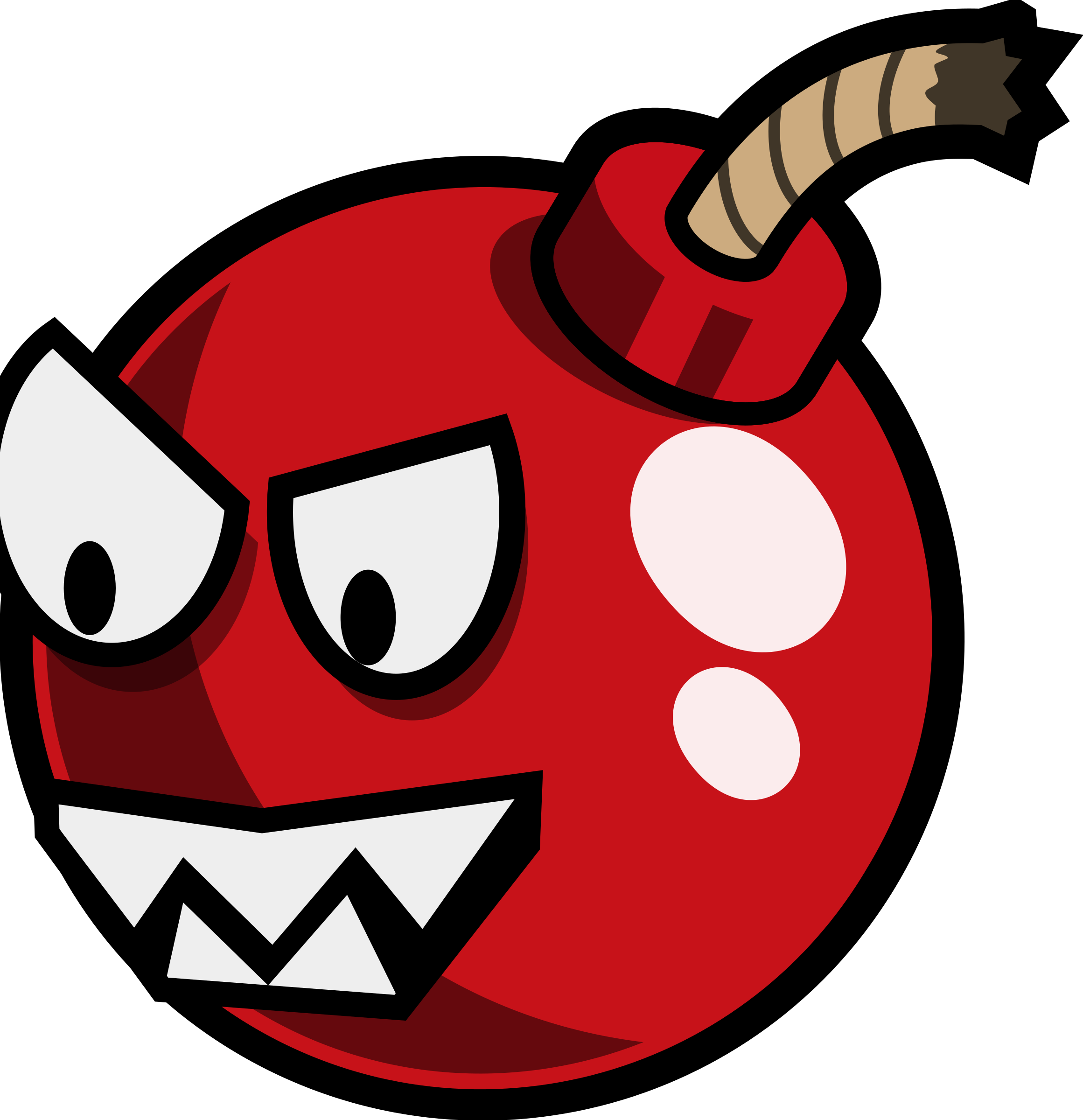 Cartoon Cherry Bomb enemy Remix by monsterbraingames
