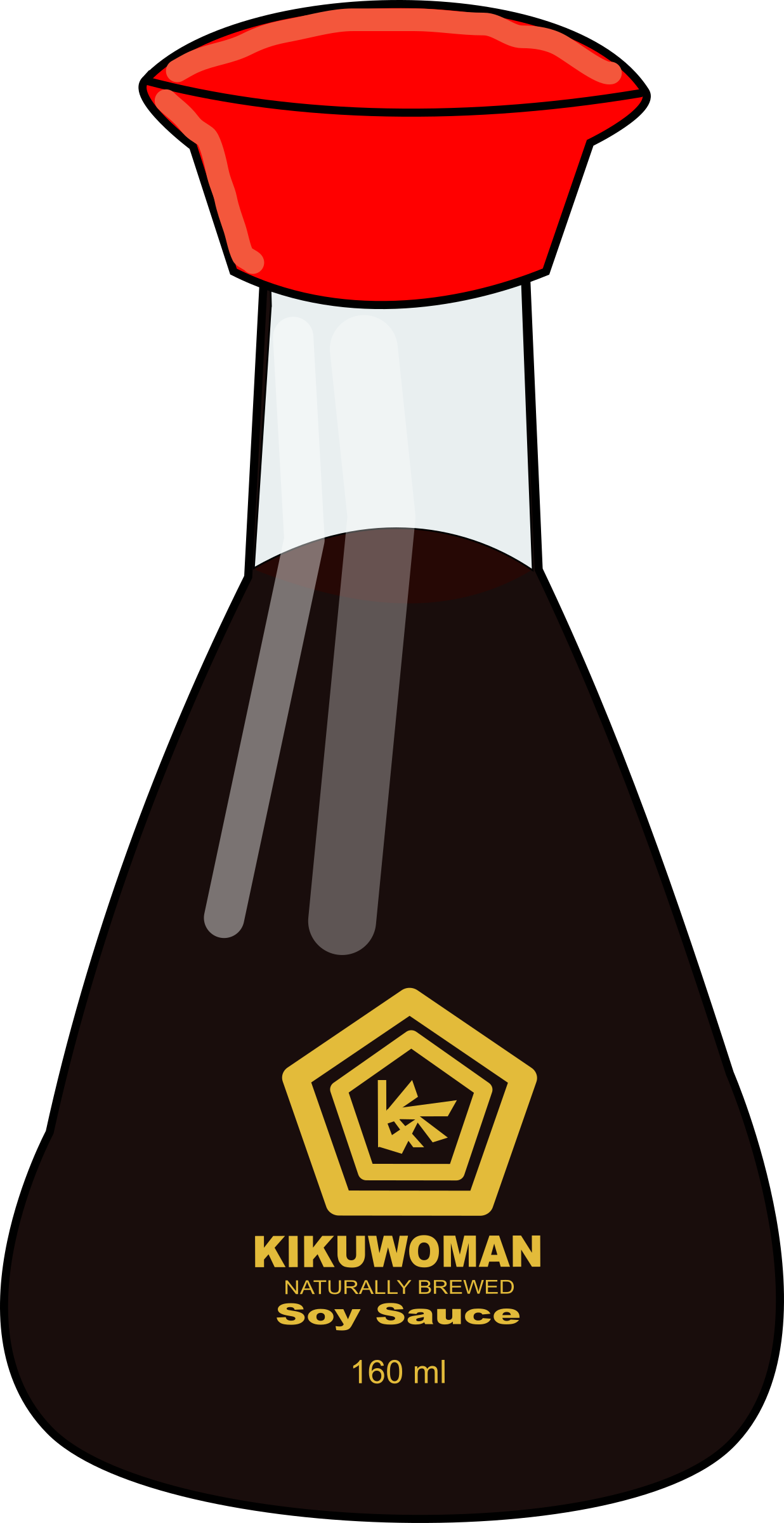 Soy Sauce Bottle by j4p4n