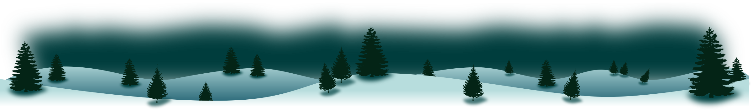 Winter Forest Panorama by salvoporjc