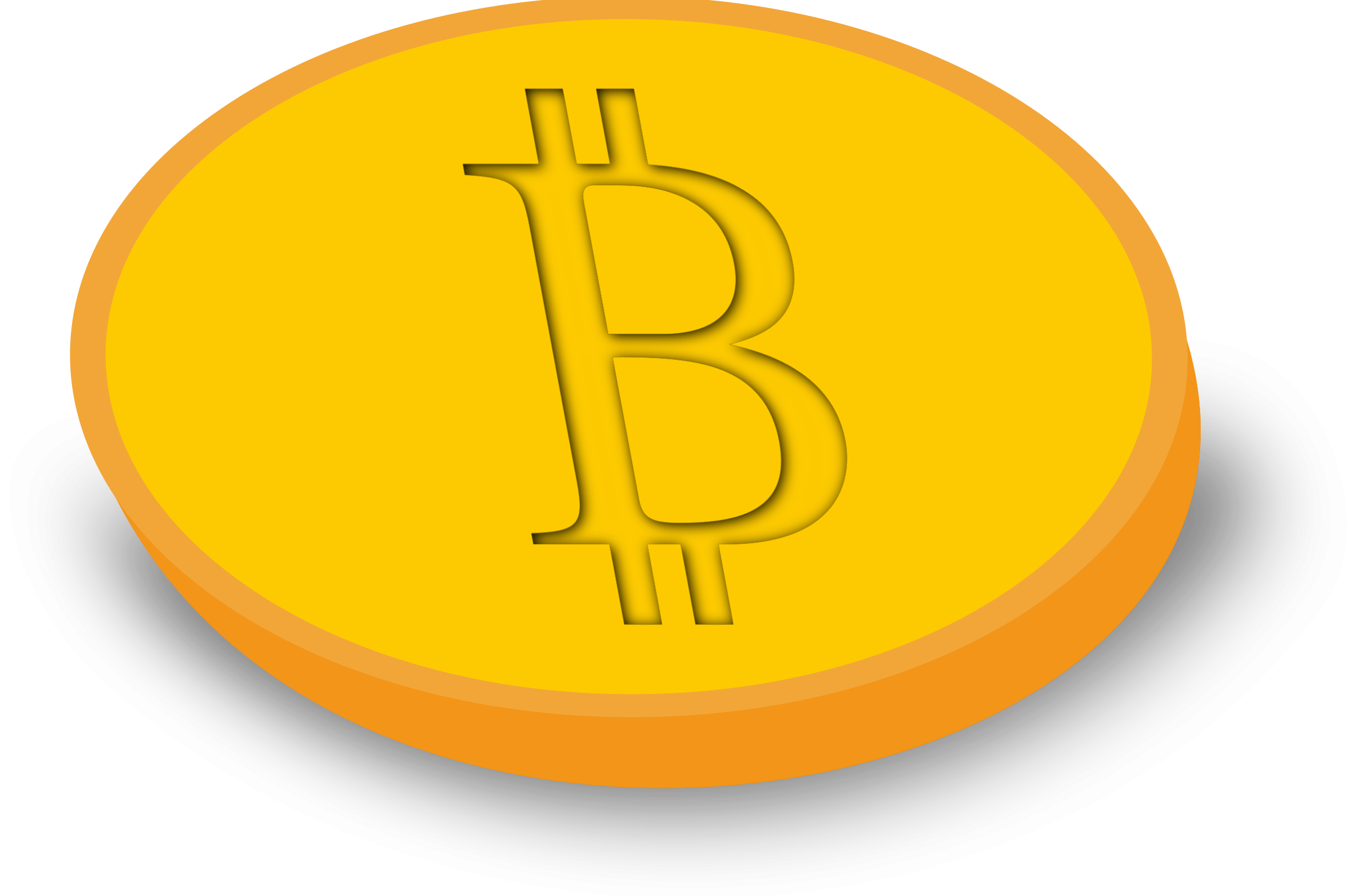 Bitcoin coin by y12