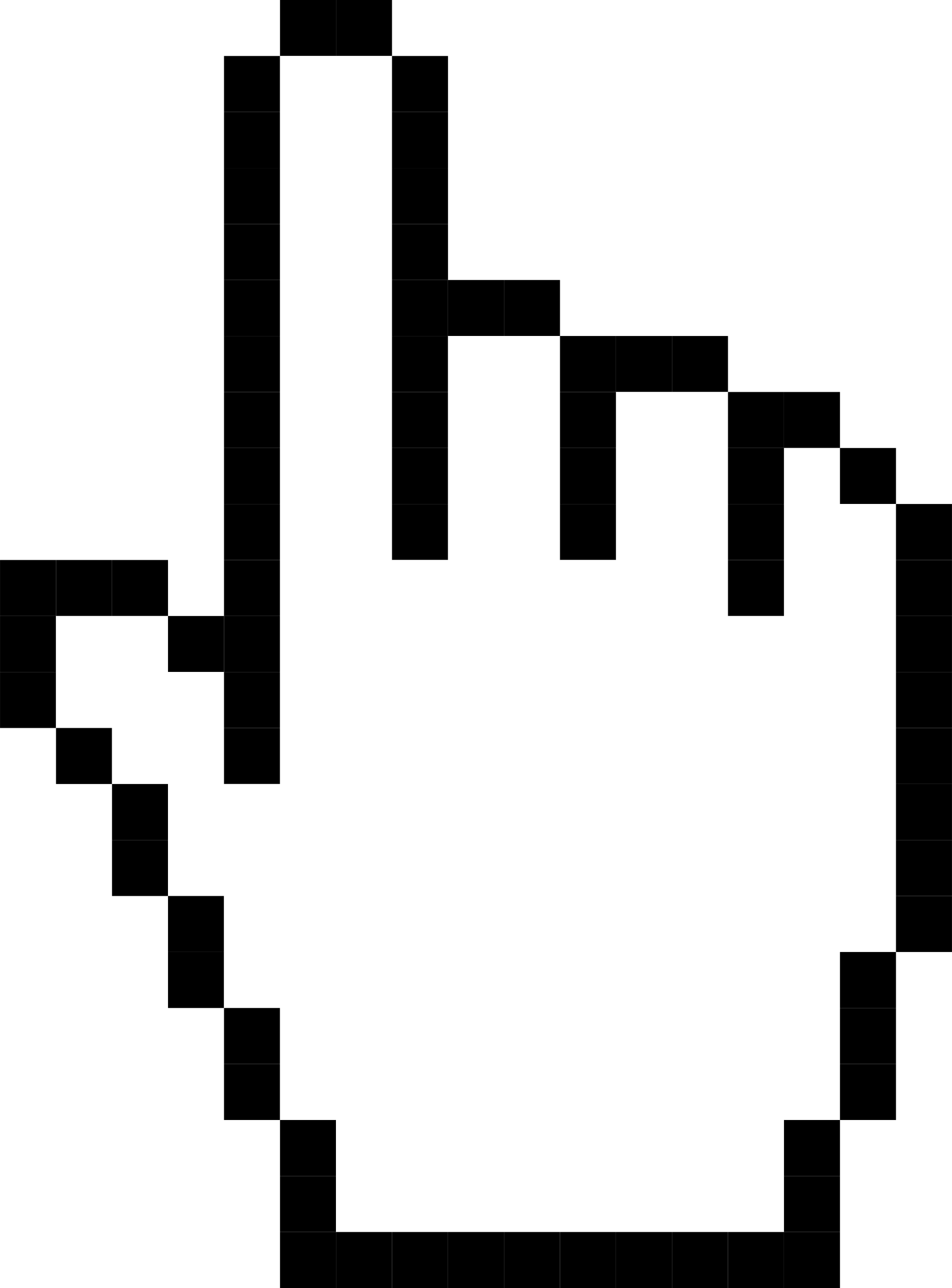 Mouse cursor hand transparent