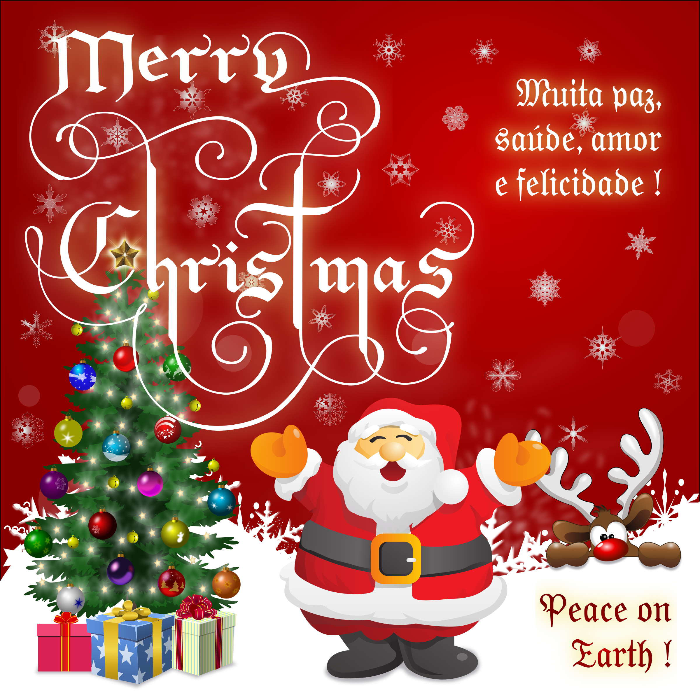 Clipart - Merry, Merry Christmas !!