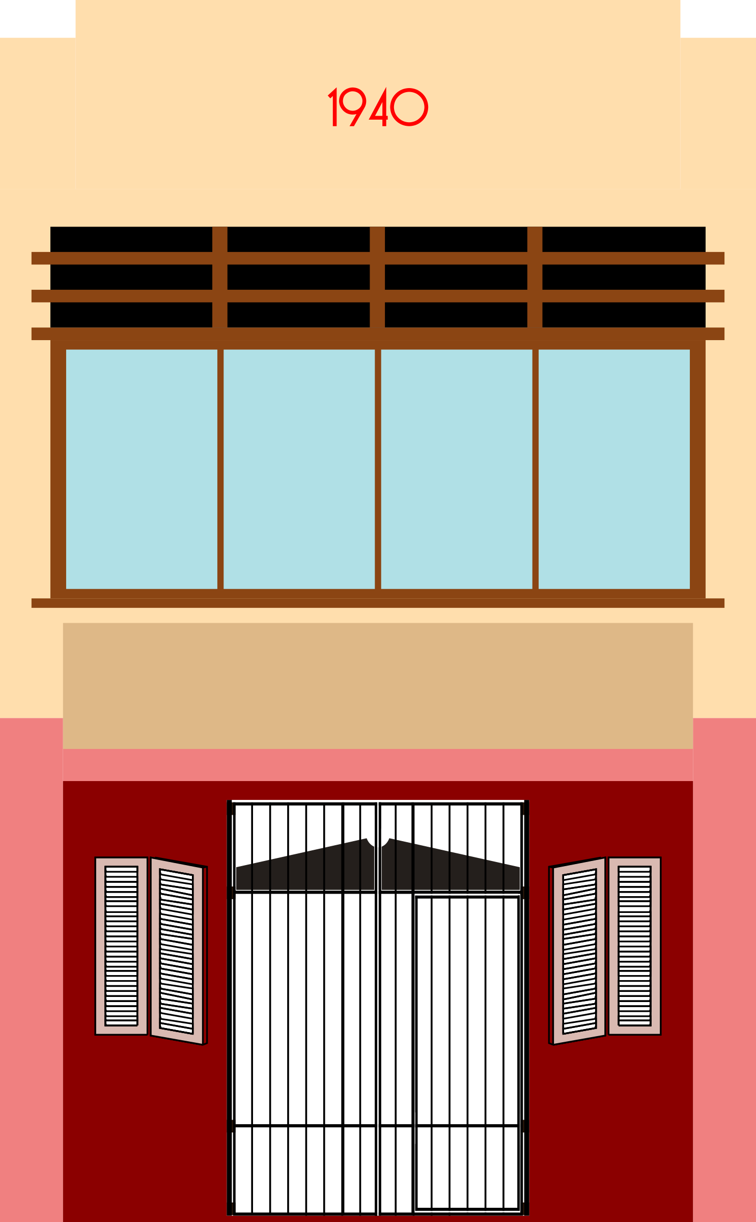 Clipart minimalist streamline moderne art deco shoplot for Deco moderne