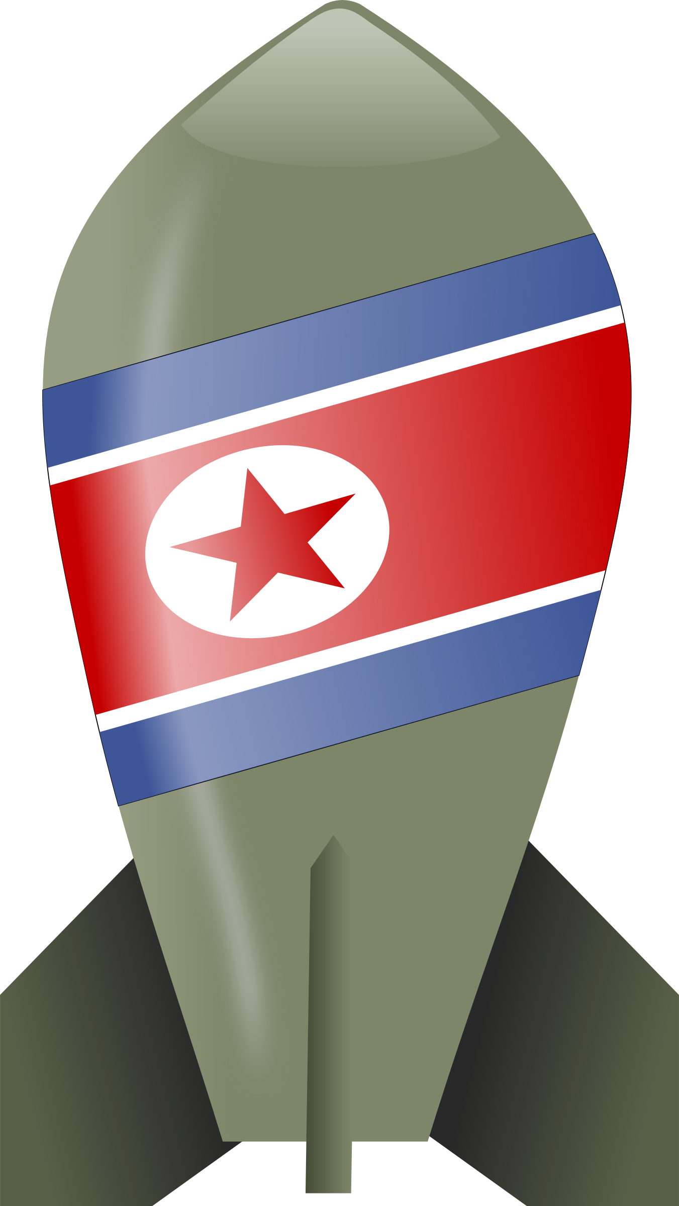 North Korea Bomb by cyberscooty