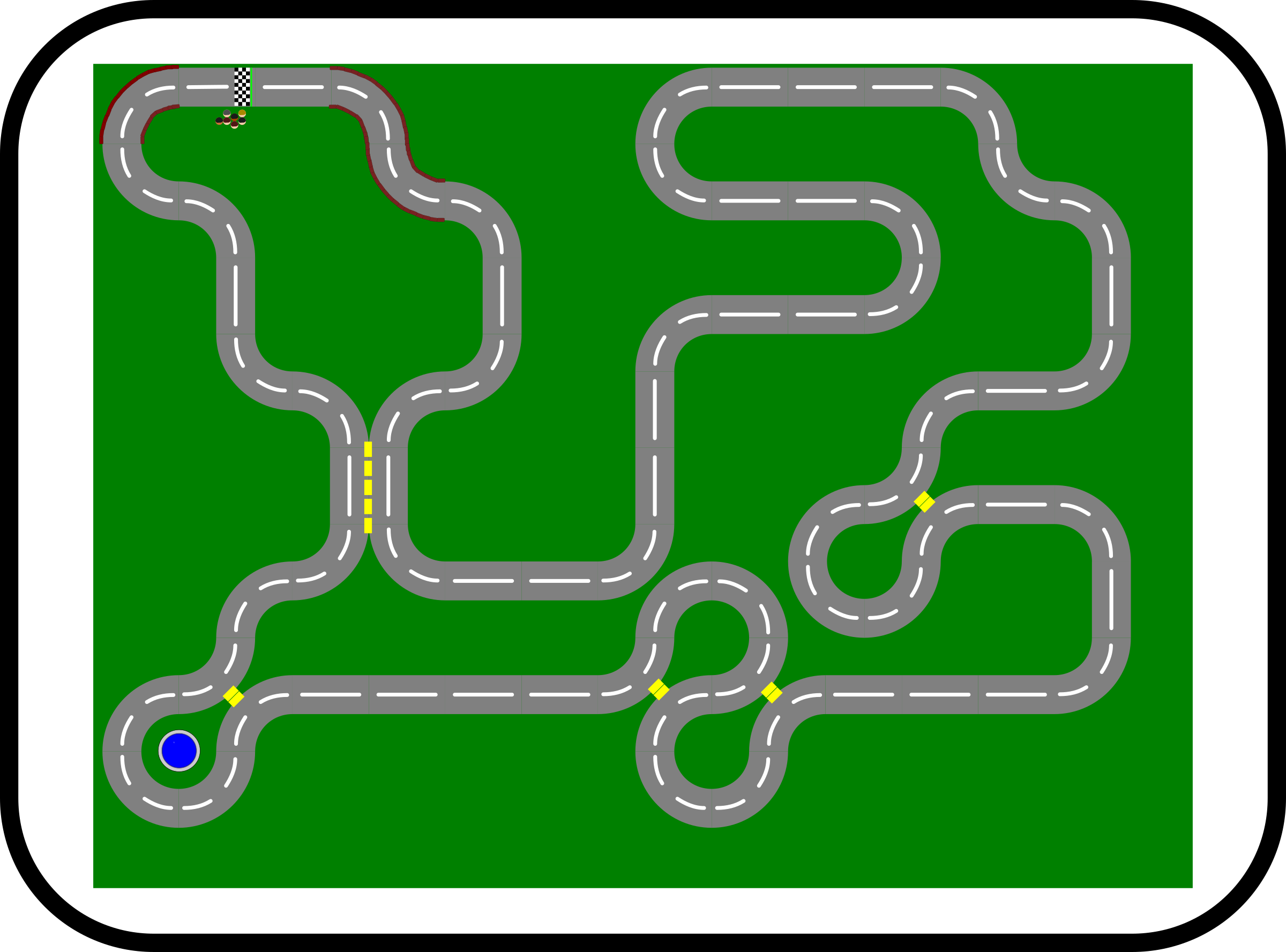 Wacky Racer Track Design by TomBrough