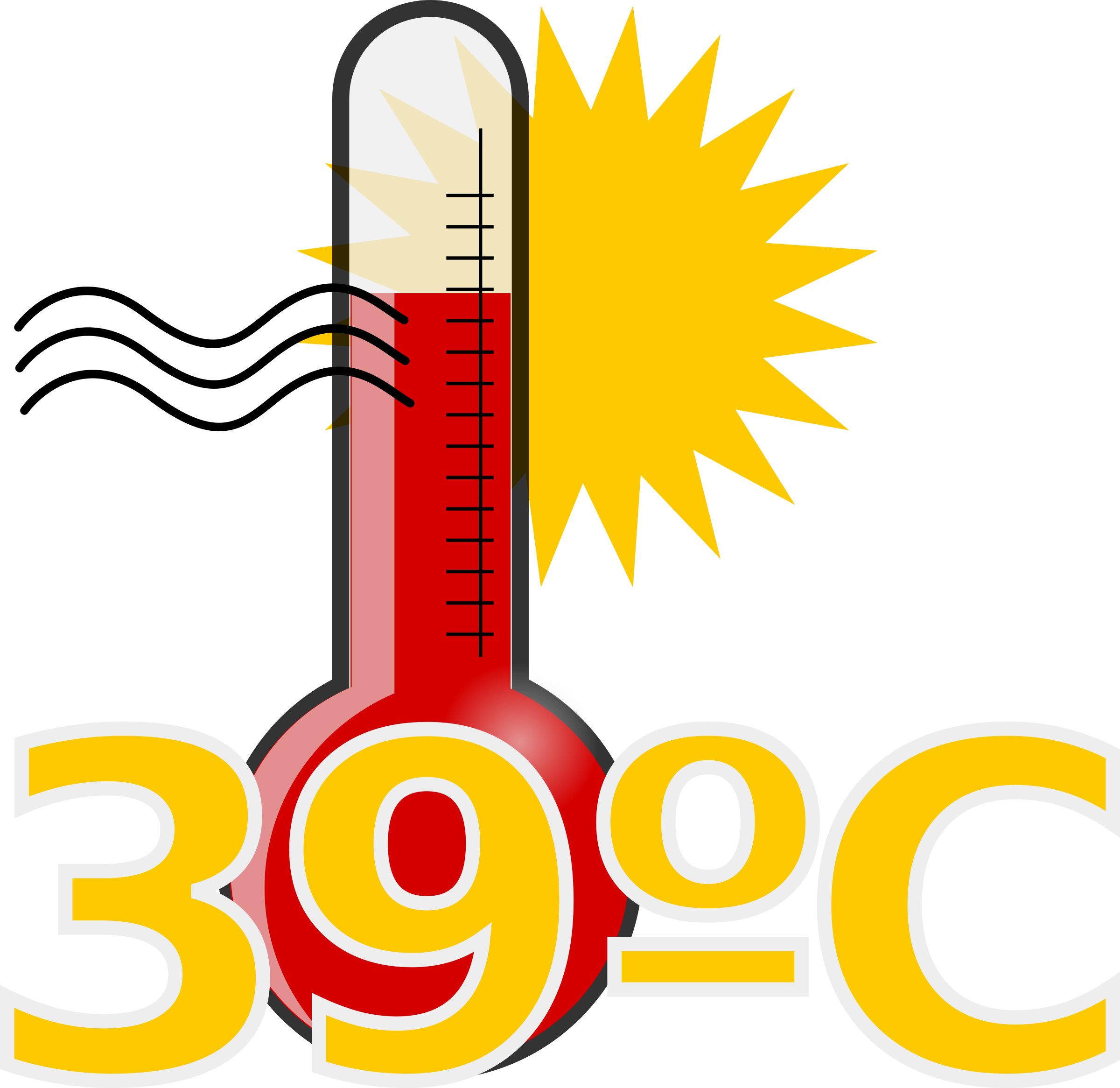 Clipart - Termômetro quente thermometer hot