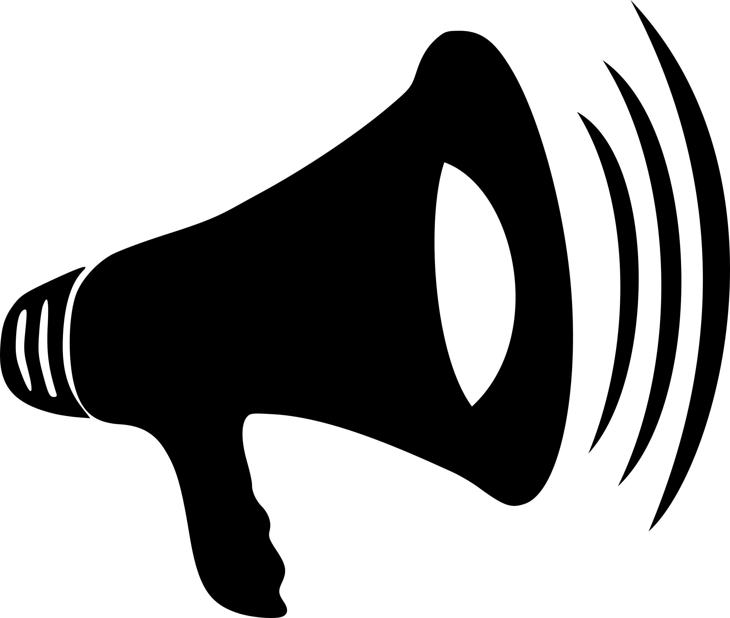 Clipart - Loud Megaphone