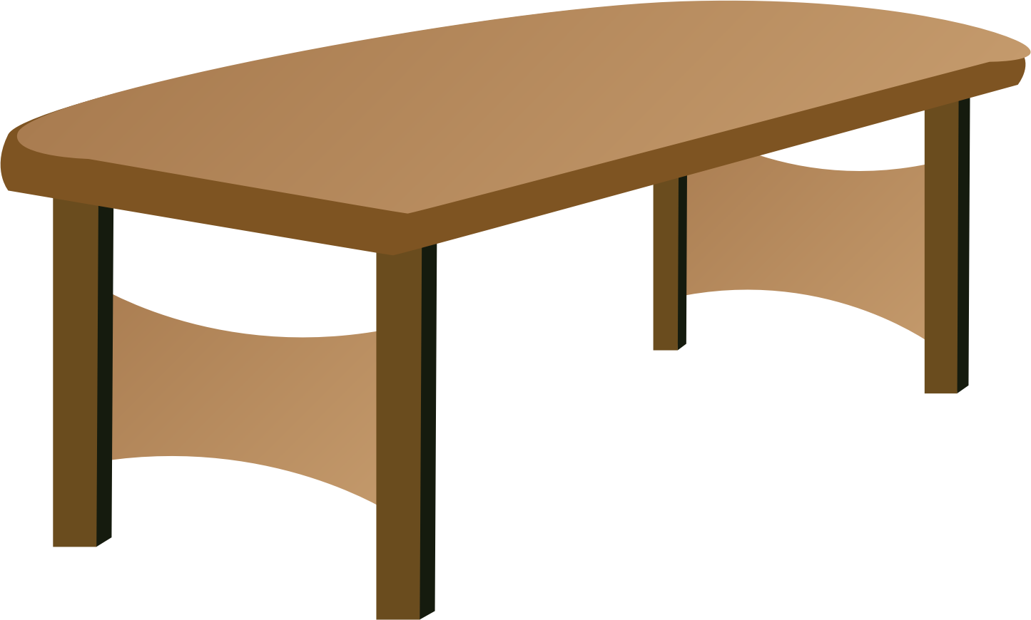 Clipart table for Set de table transparent