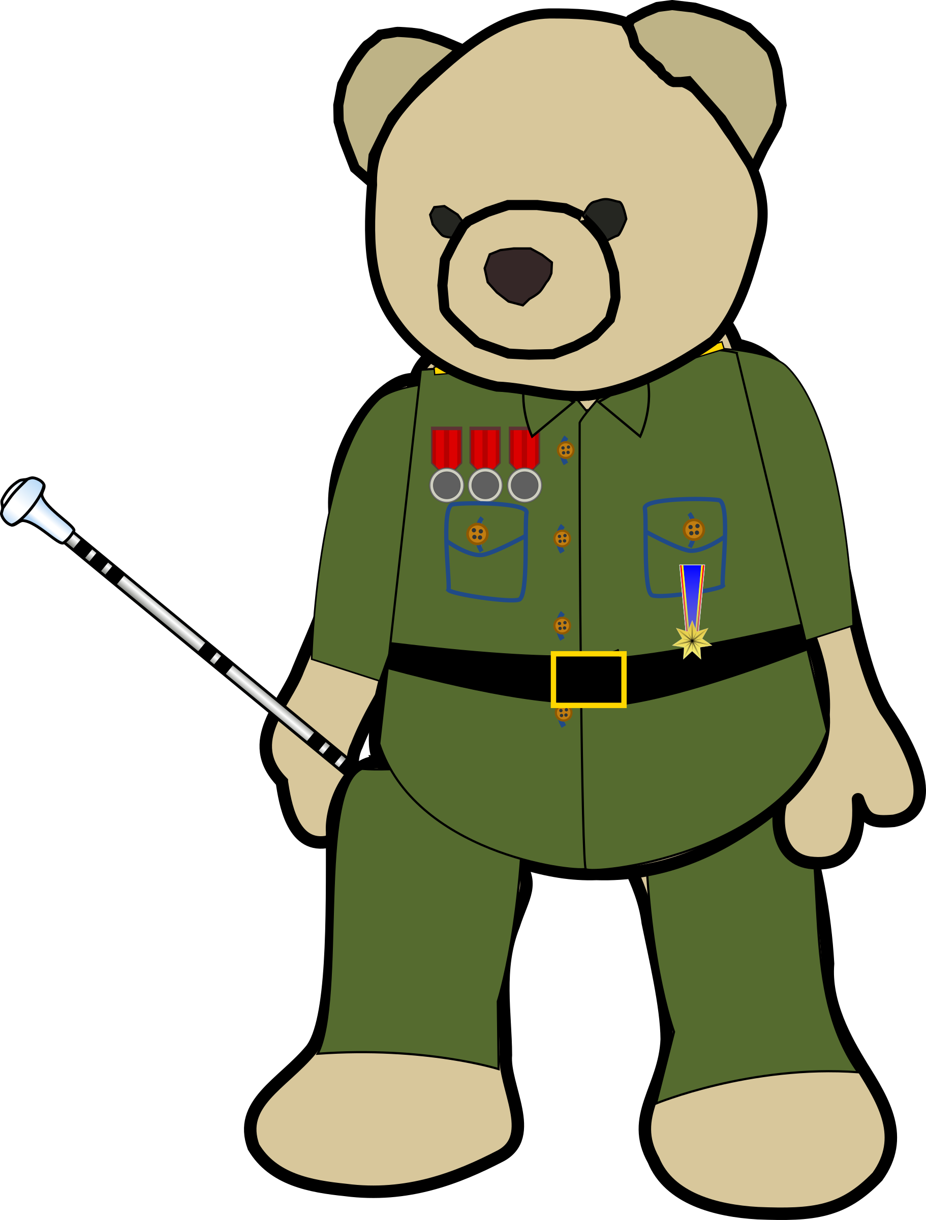 Field Marshal Teddy by derkommander0916