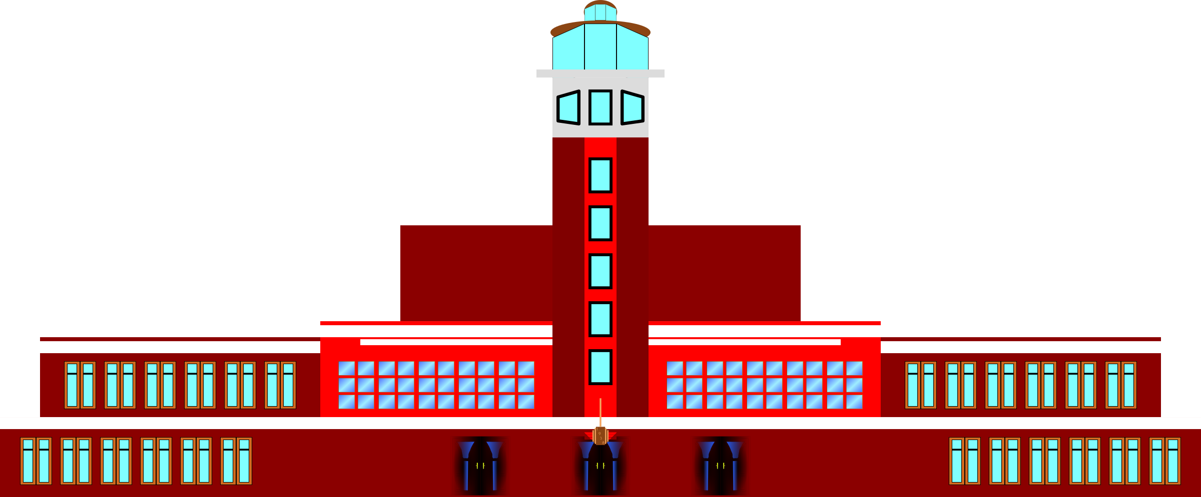 Art Deco Air Terminal by derkommander0916