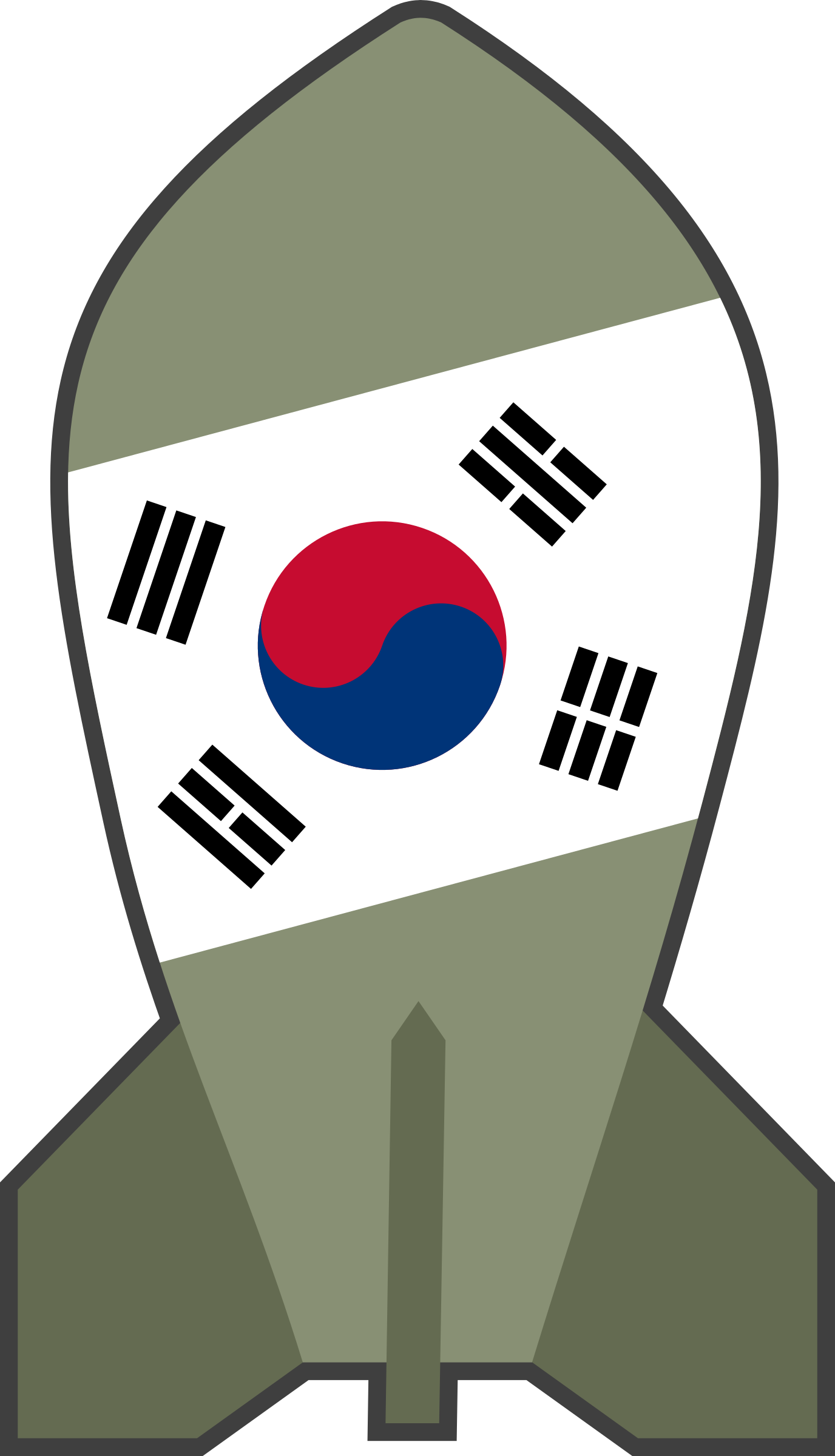 South Korean Bomb by qubodup