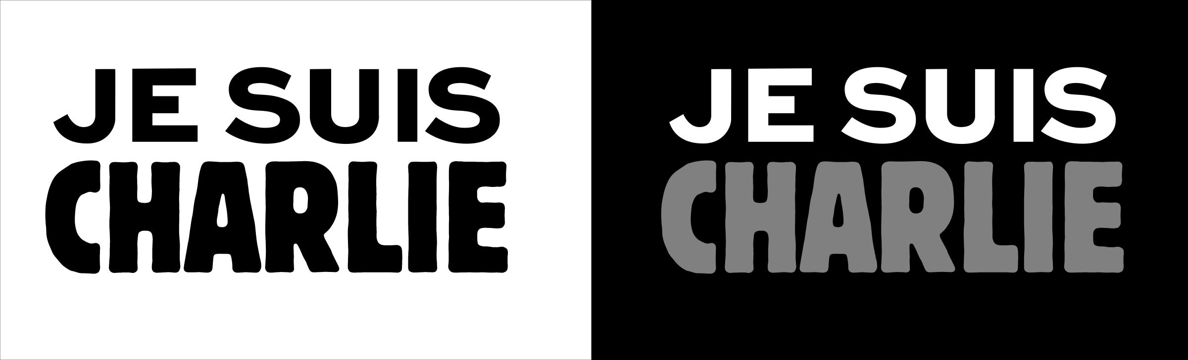 creer logo je suis charlie