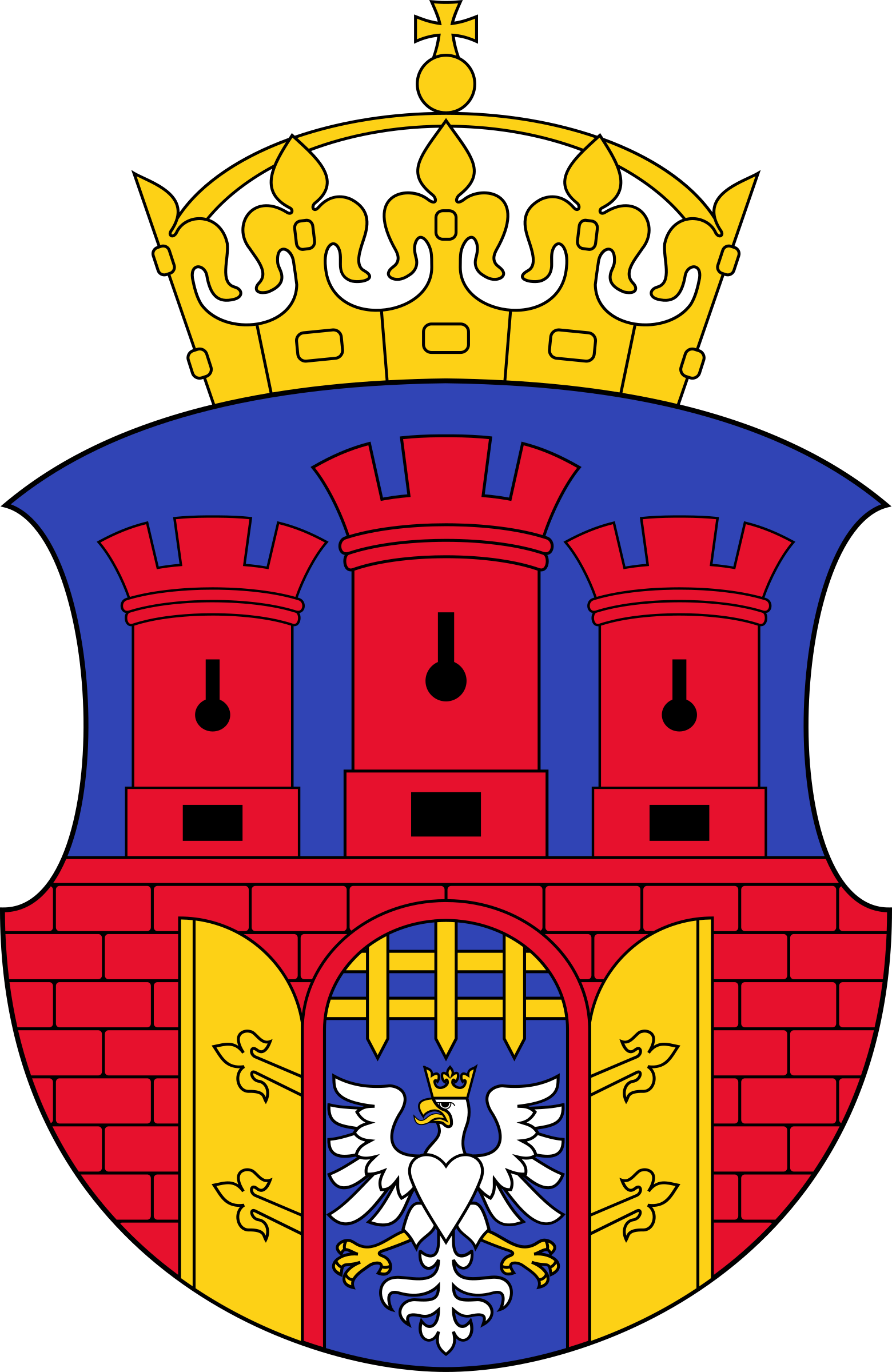 Coat of Arms of Cracow by bocian