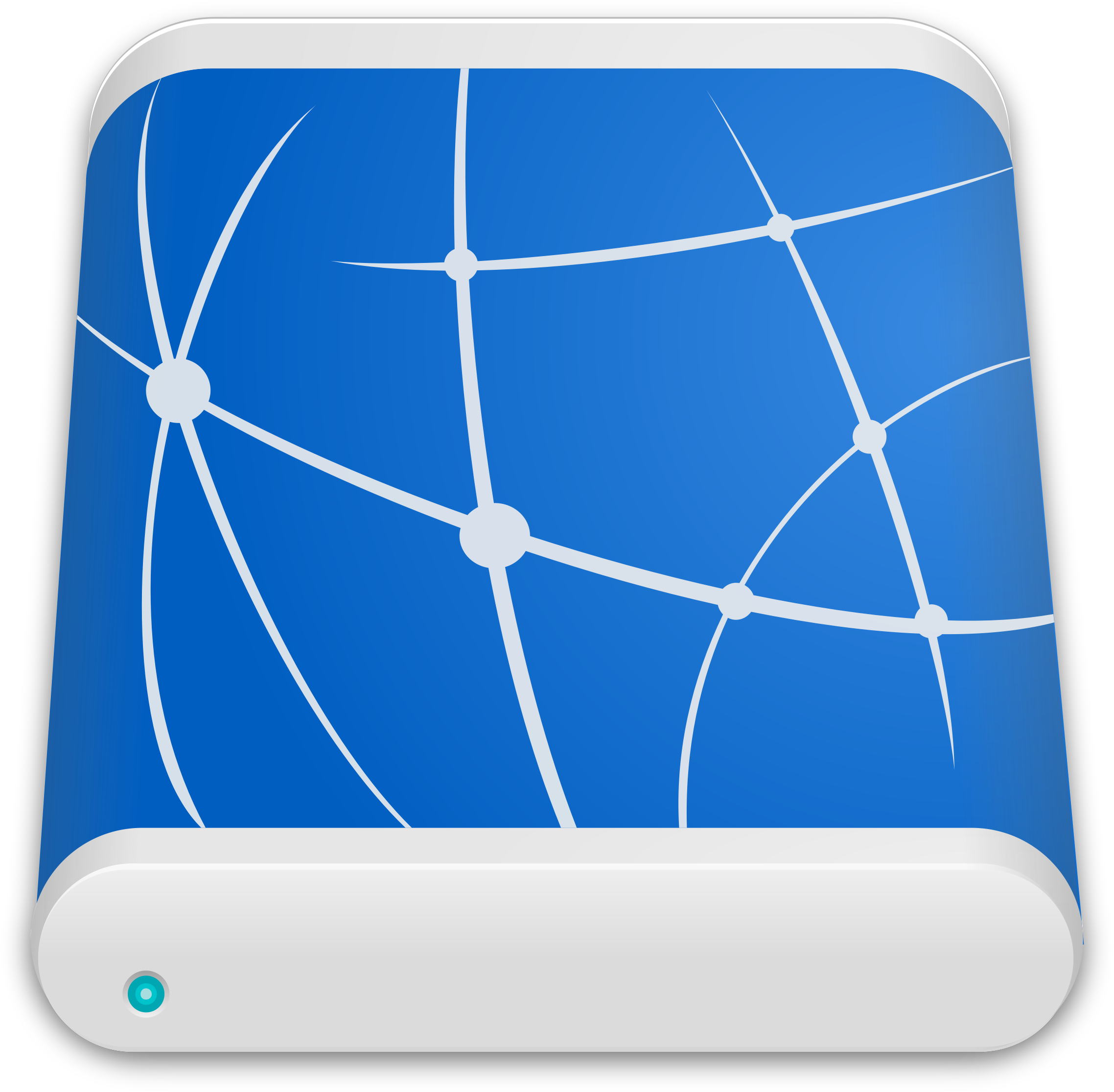 Remote Drive Icon 2 by sixsixfive
