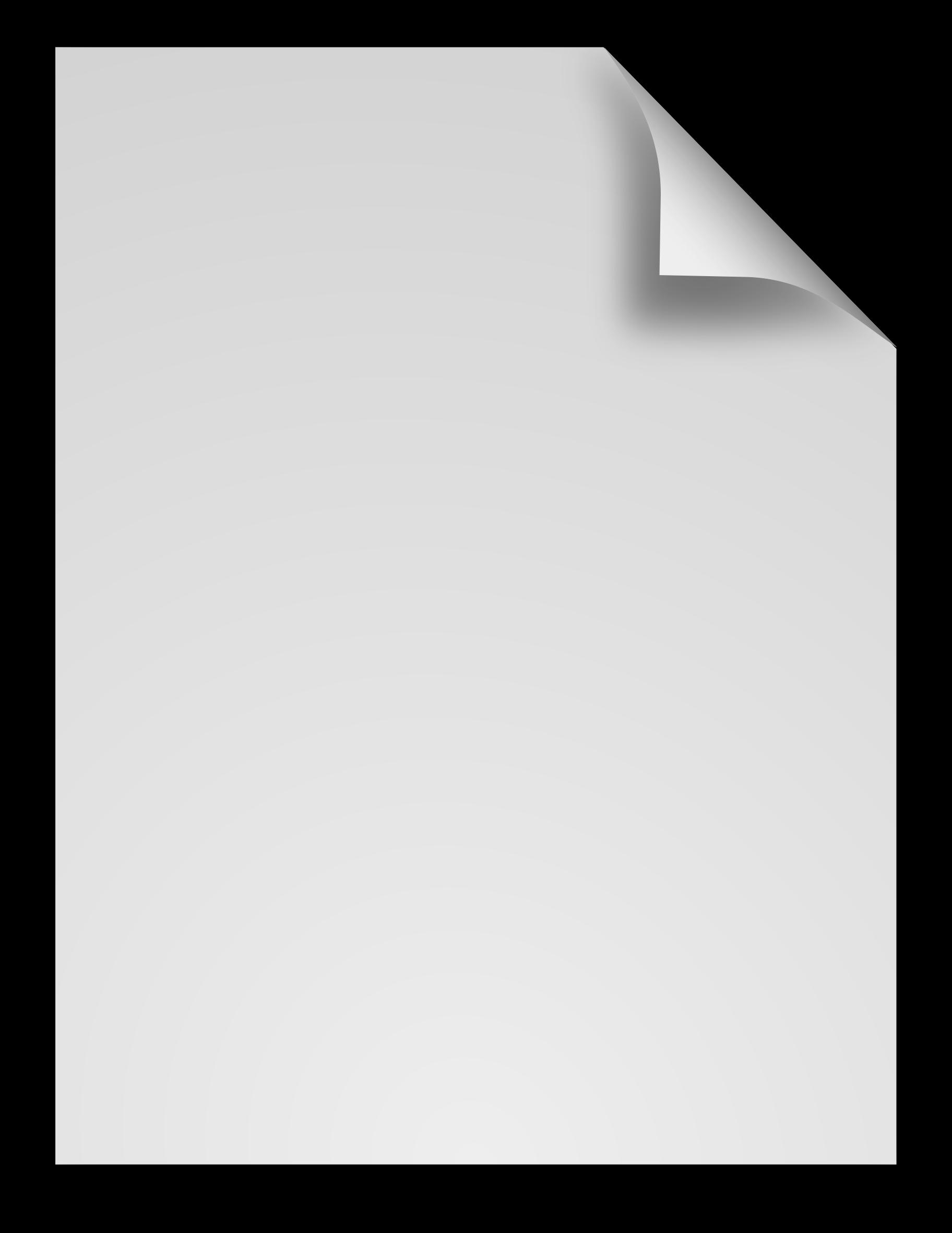 clipart generic file icon