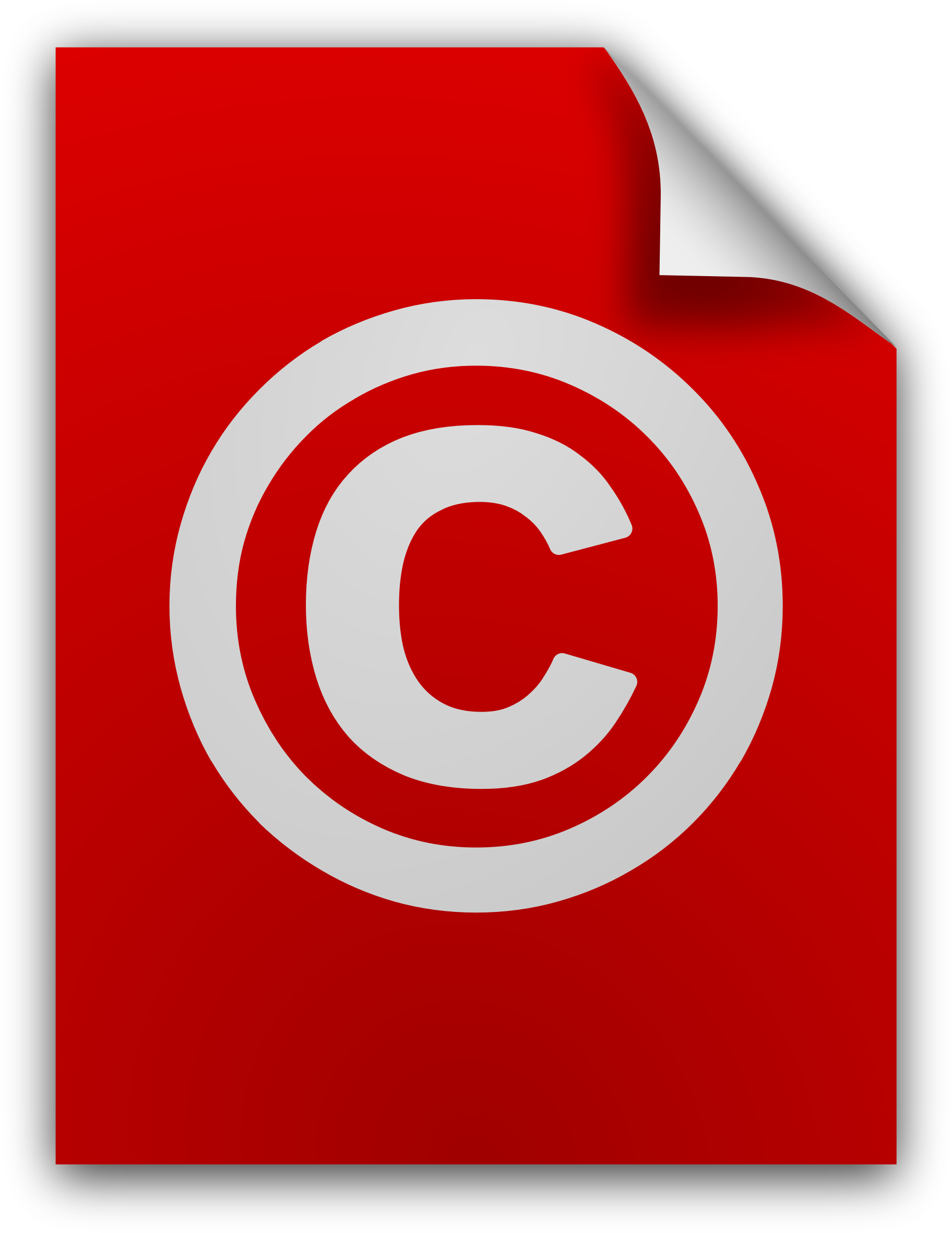 Copyright Document Icon by sixsixfive