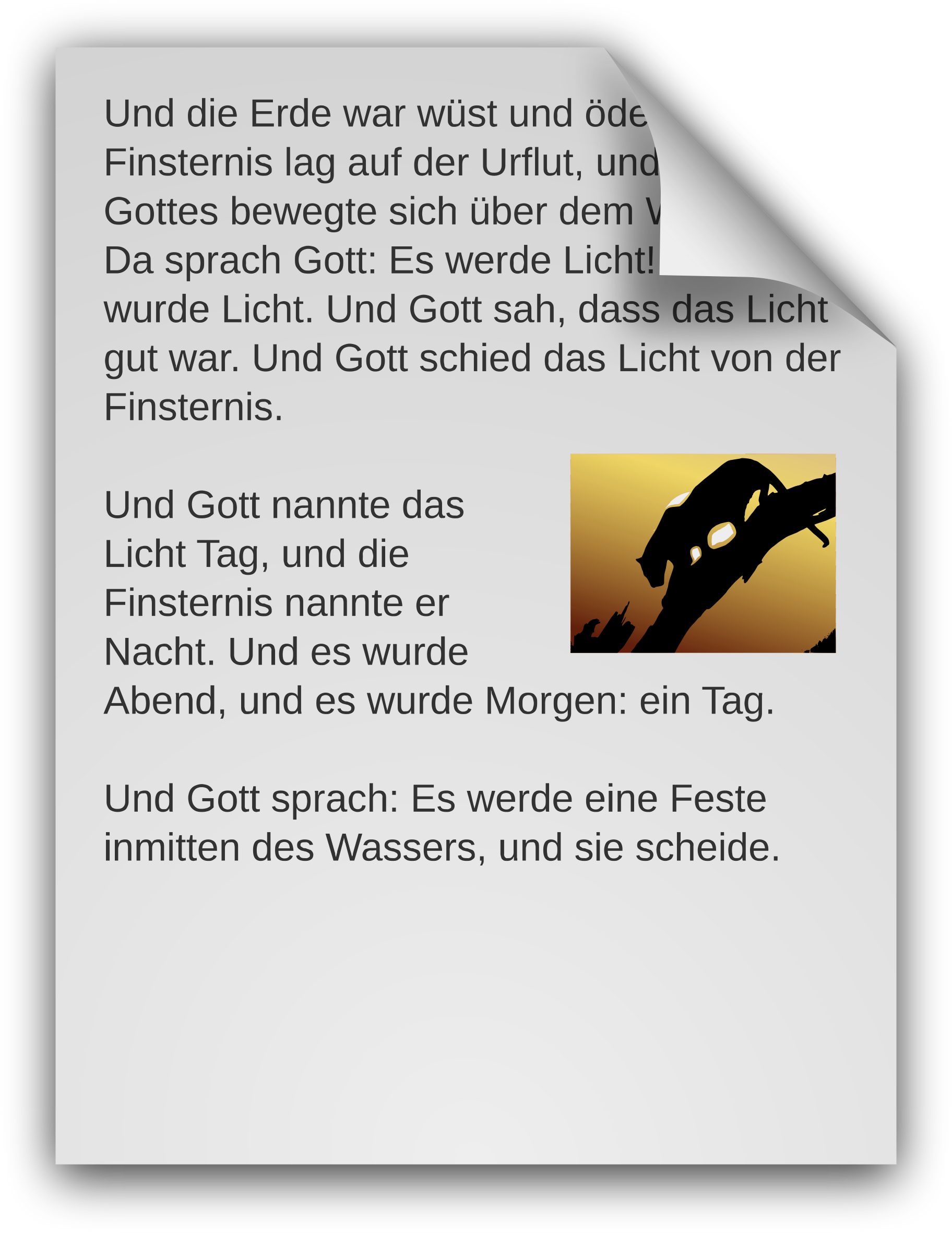 German Text Document Icon by sixsixfive