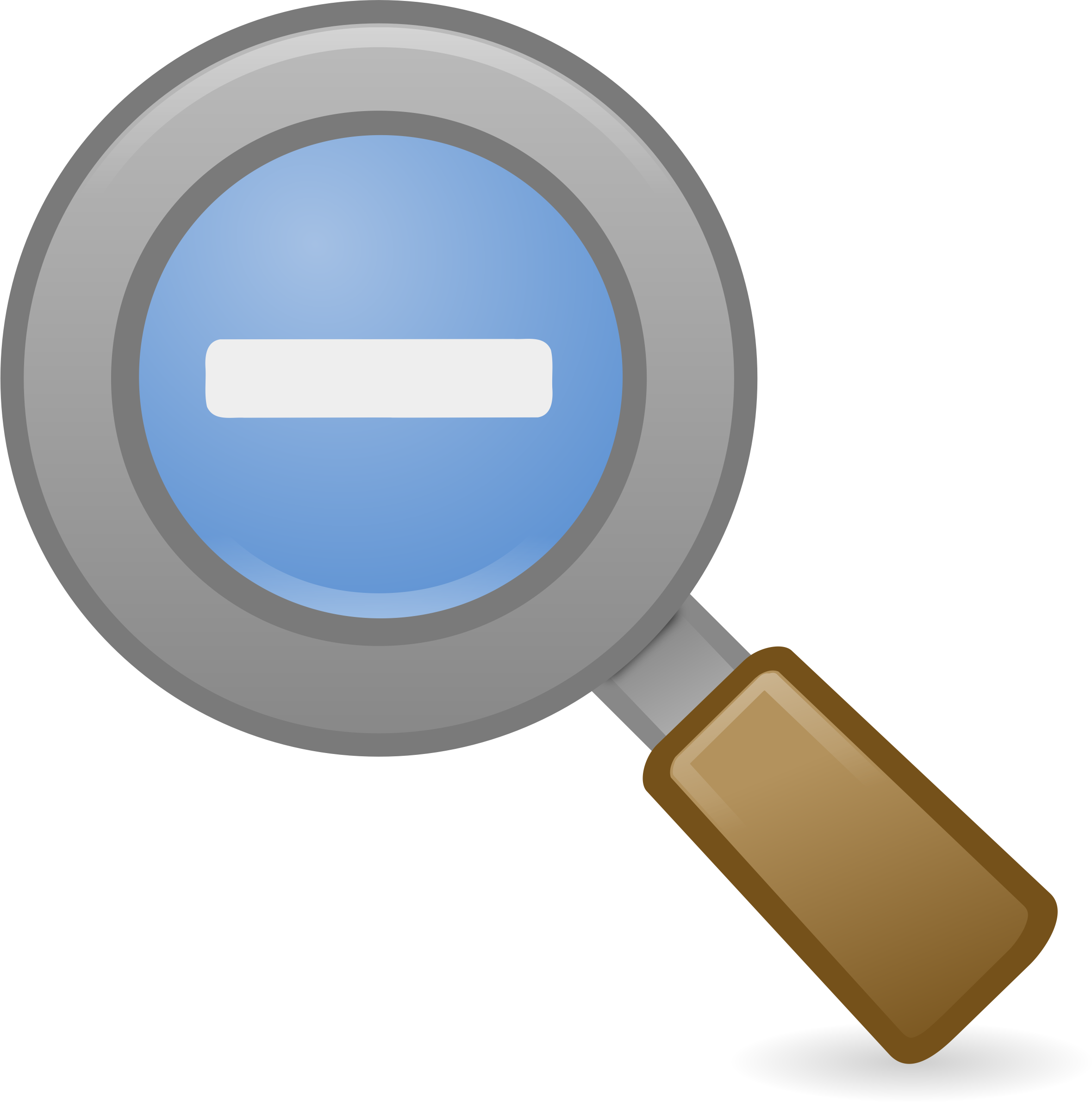 Clipart - Zoom Out Icon