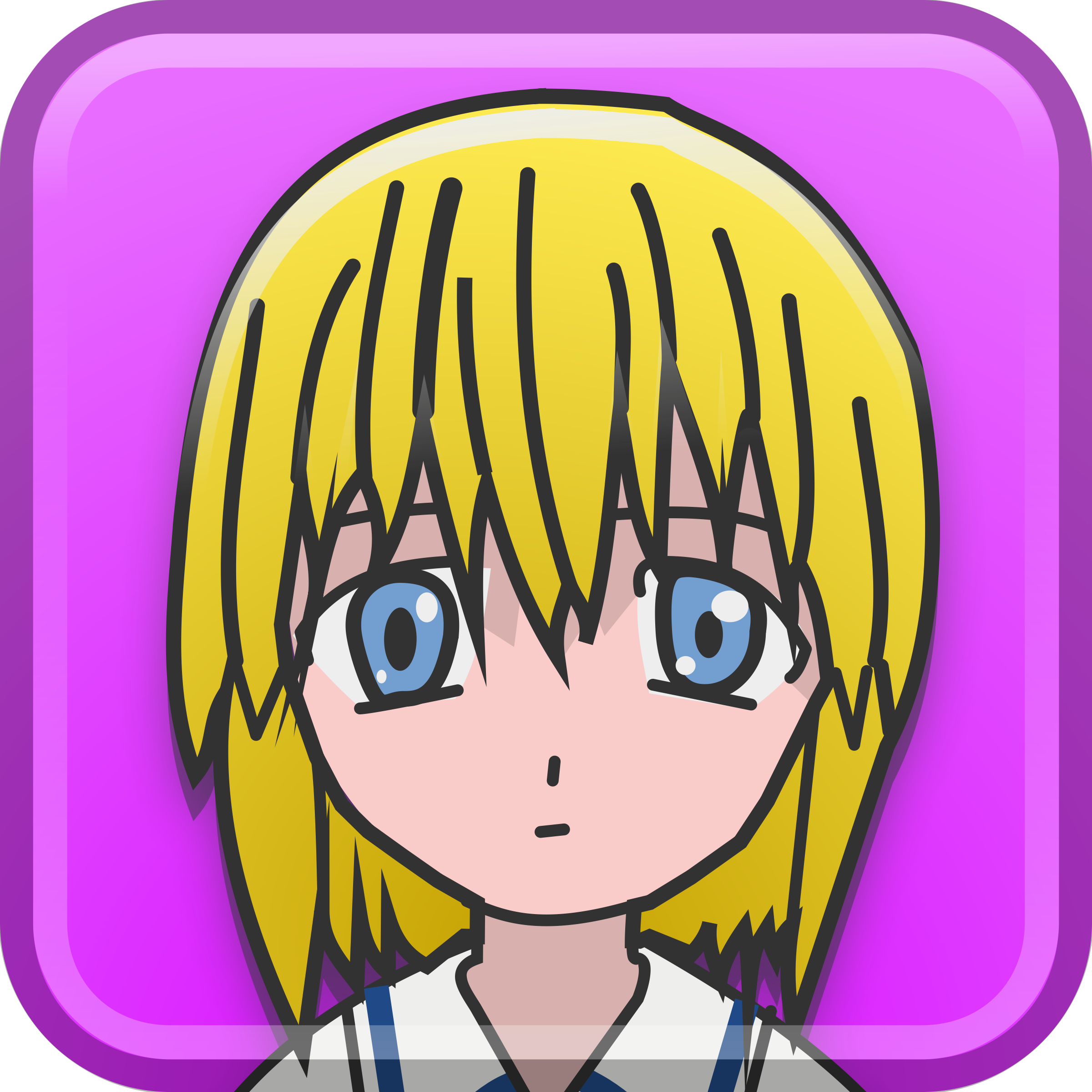 Blonde Haired Kid by sixsixfive