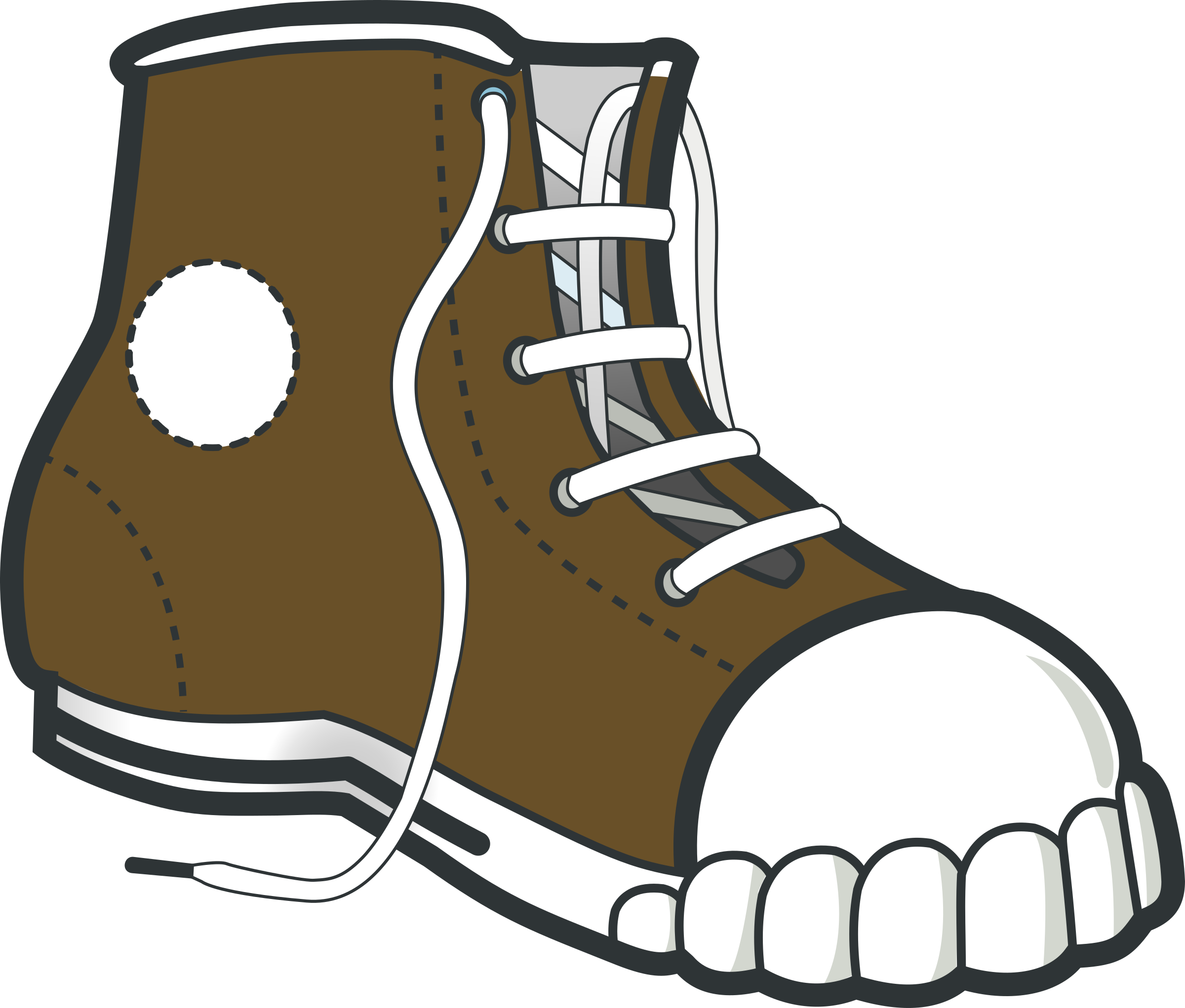 Brown boot by Kib