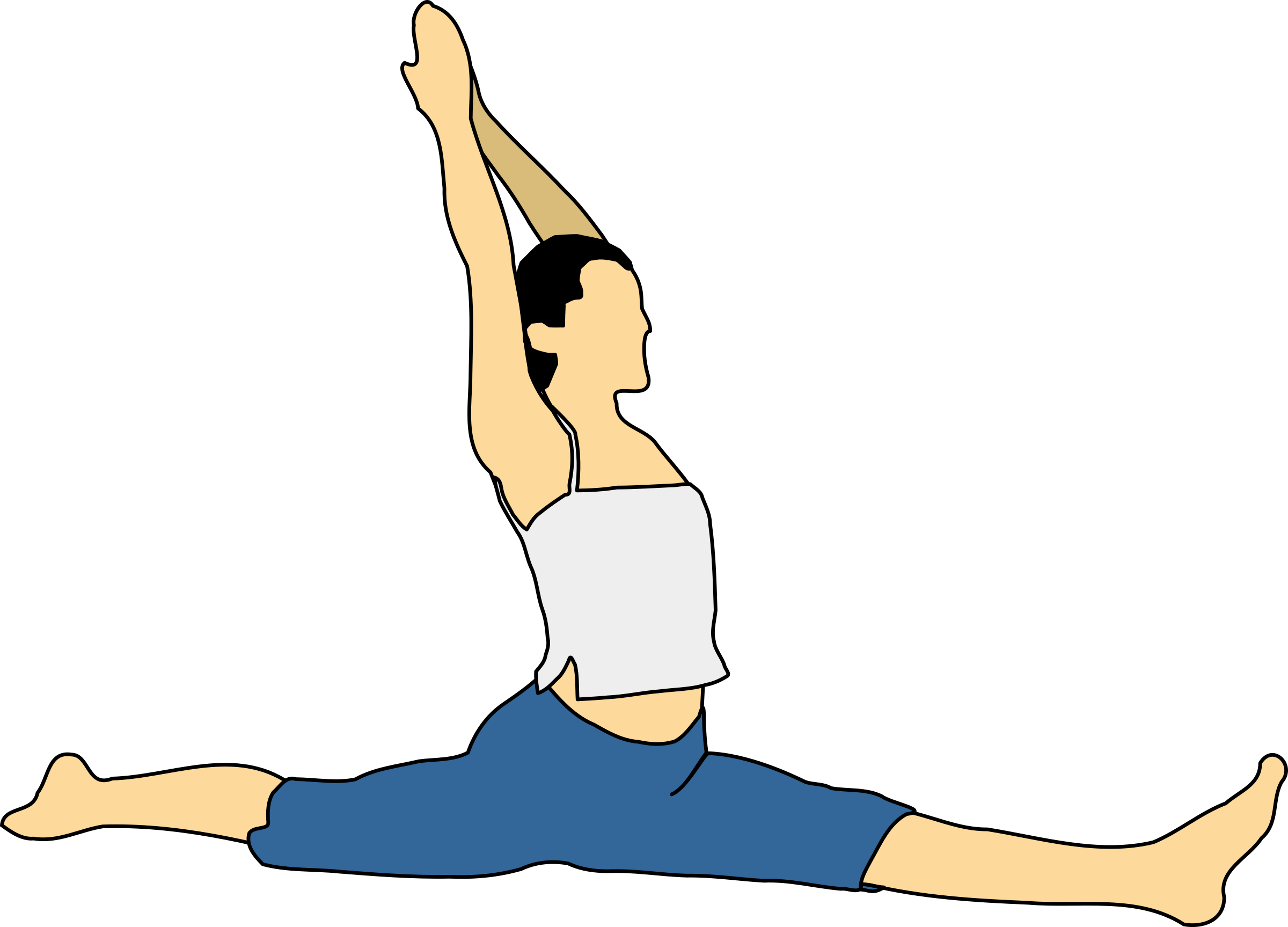 Hanumanasana by mpuech