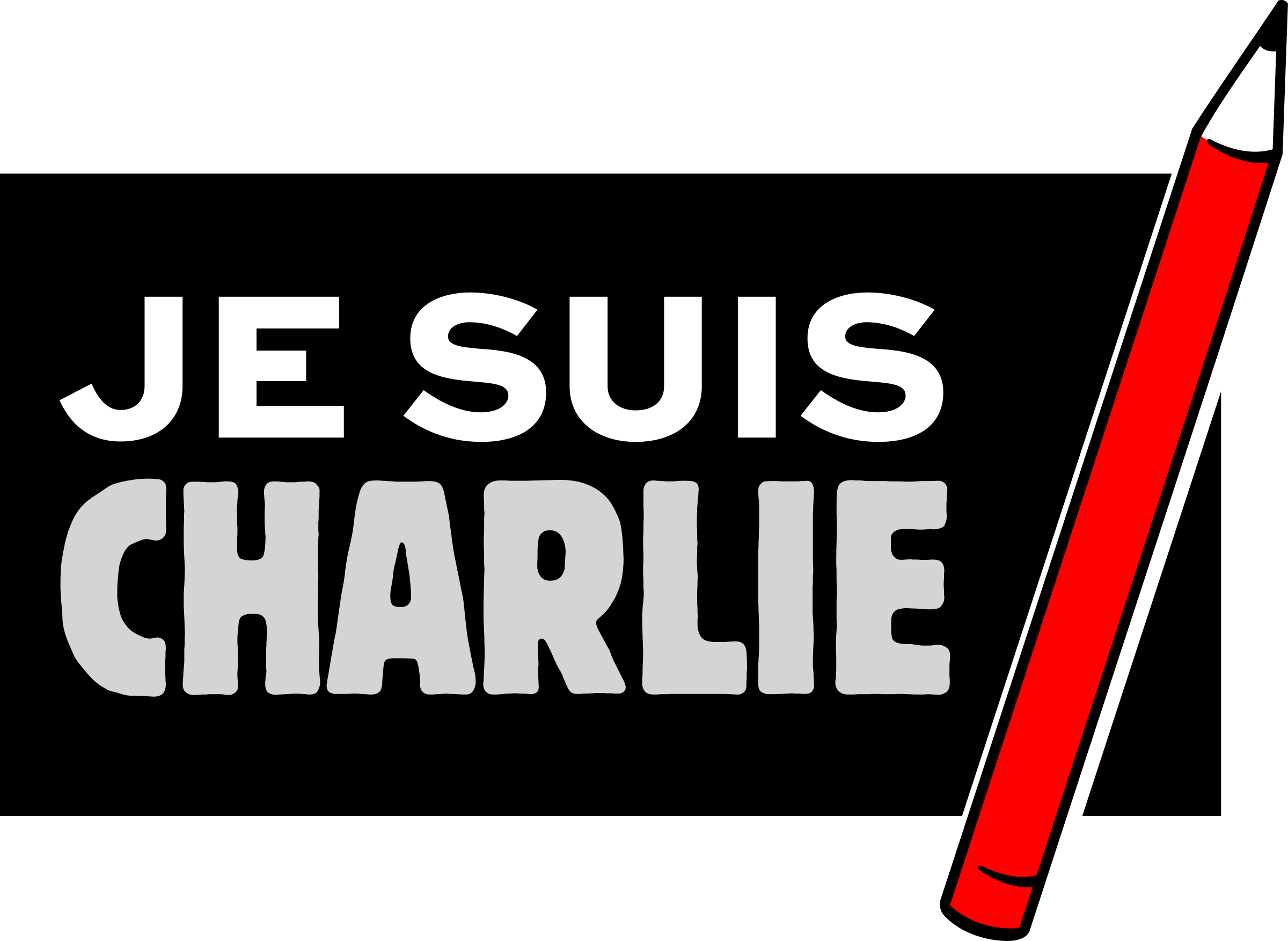 Je suis Charlie - Freedom of Press by mondspeer