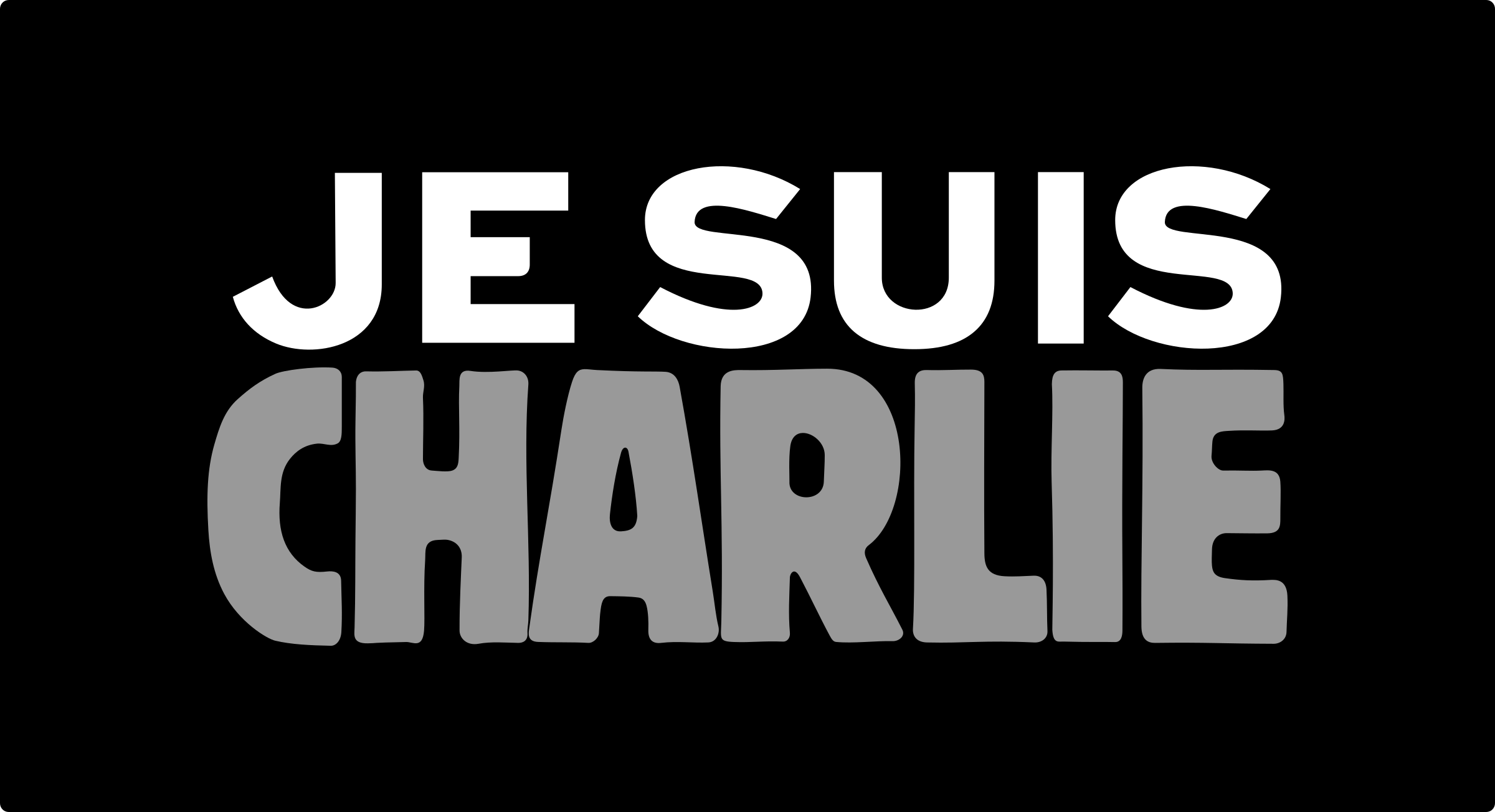 Je suis CHARLIE (I am CHARLIE) by cyberscooty