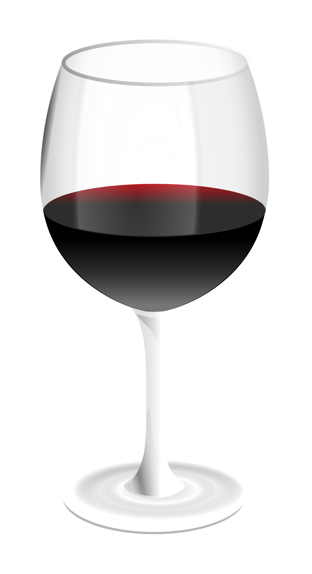 red wine glass by GMcGlinn