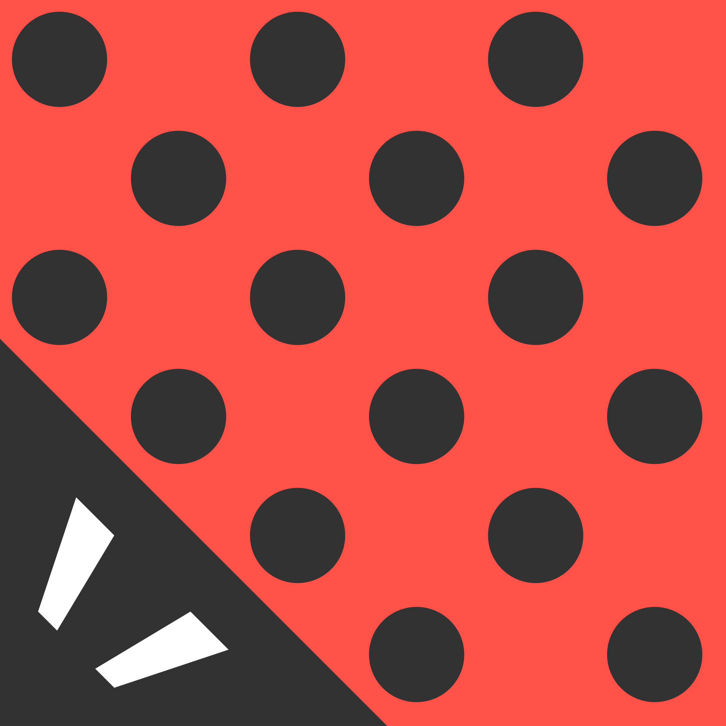 Abstract Cubism Ladybug Icon by qubodup