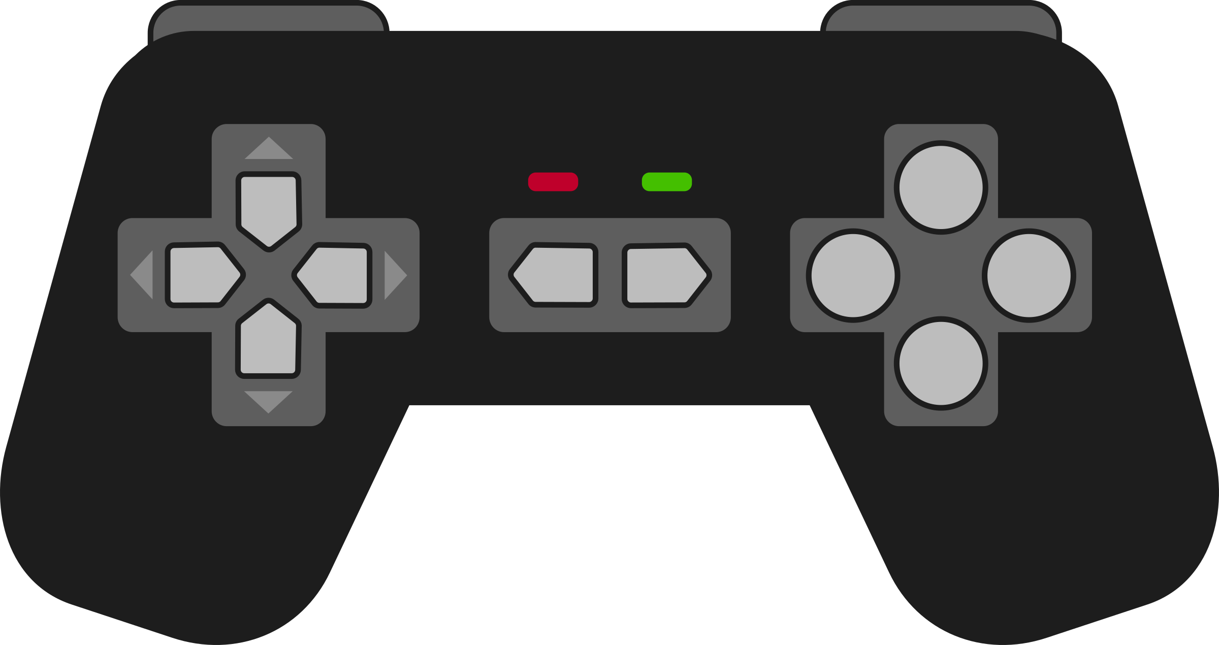Gamepad Black by qubodup