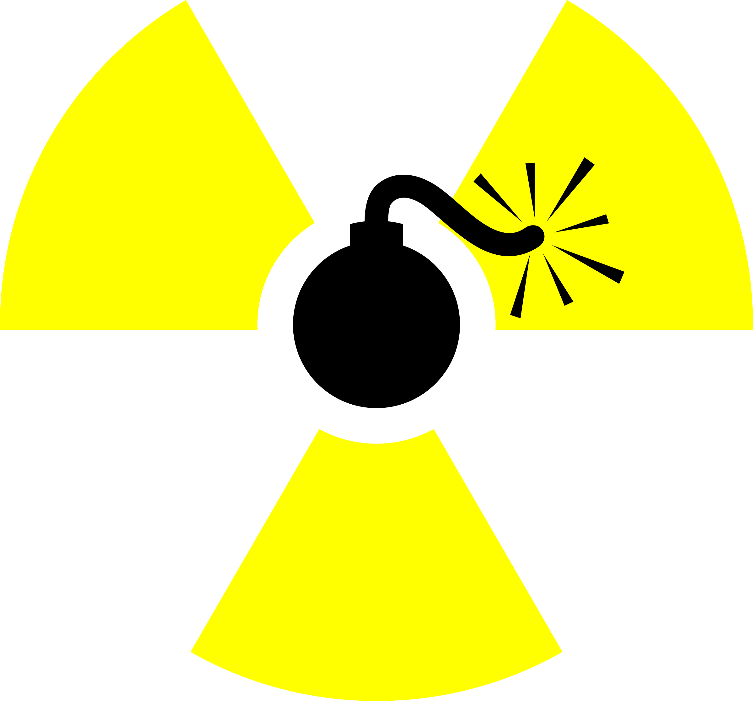 Clipart - Atomic Bomb
