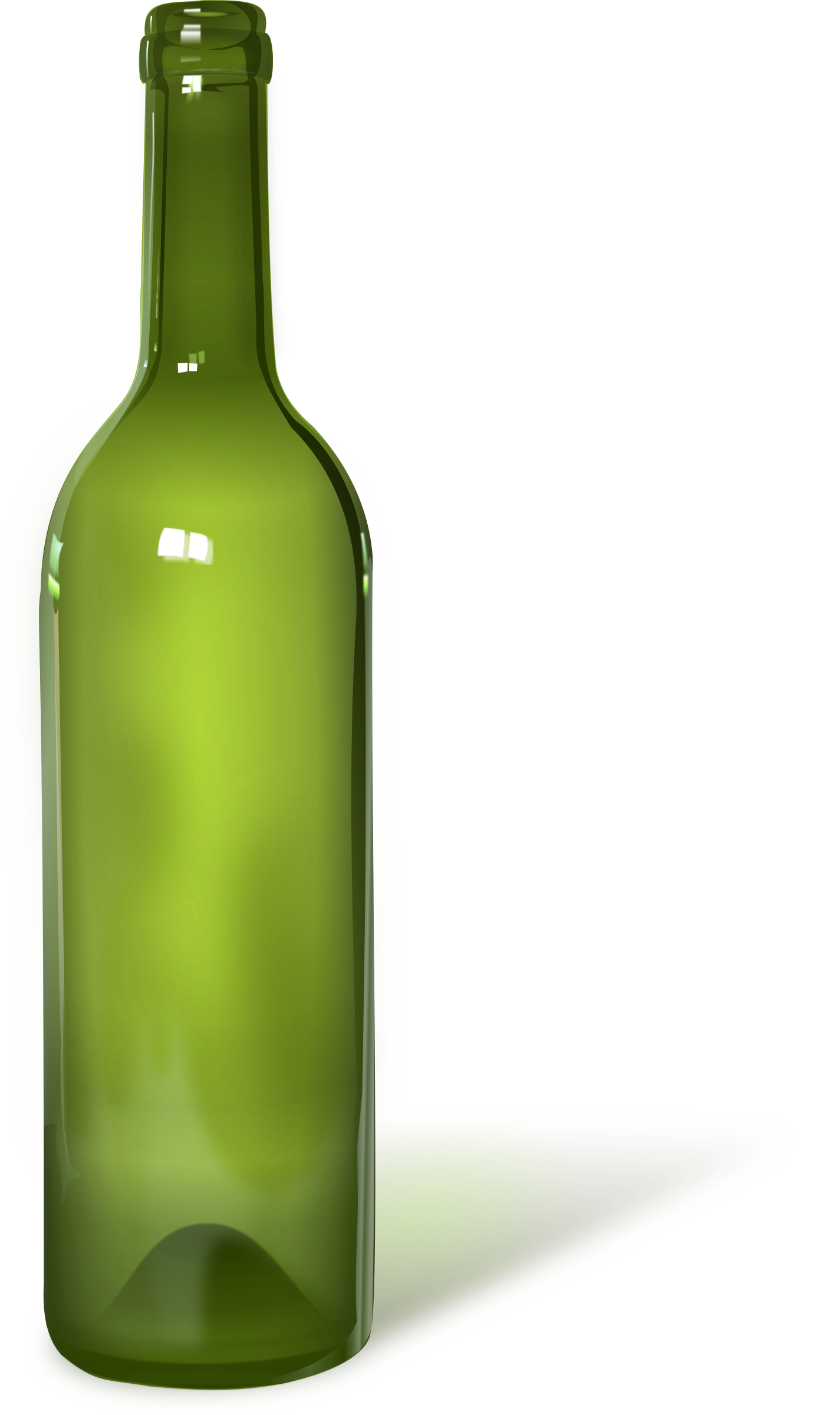 Bottle - detailed (with shadow) by metalorg