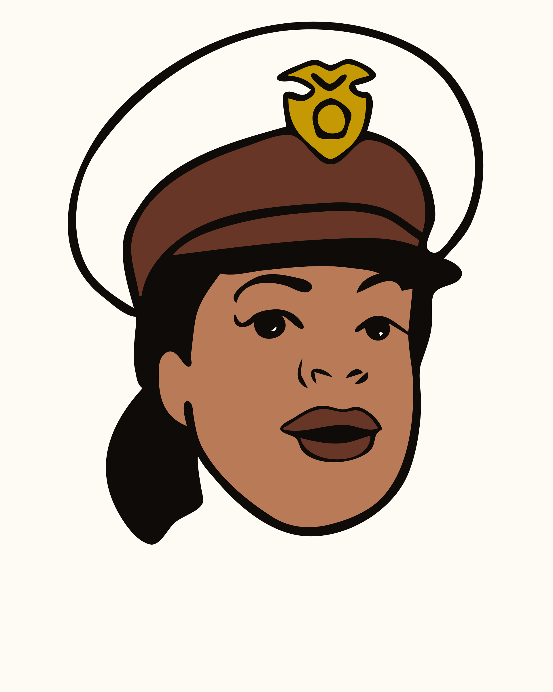 Clipart - Face, Avatar, Woman, Female, Police 2