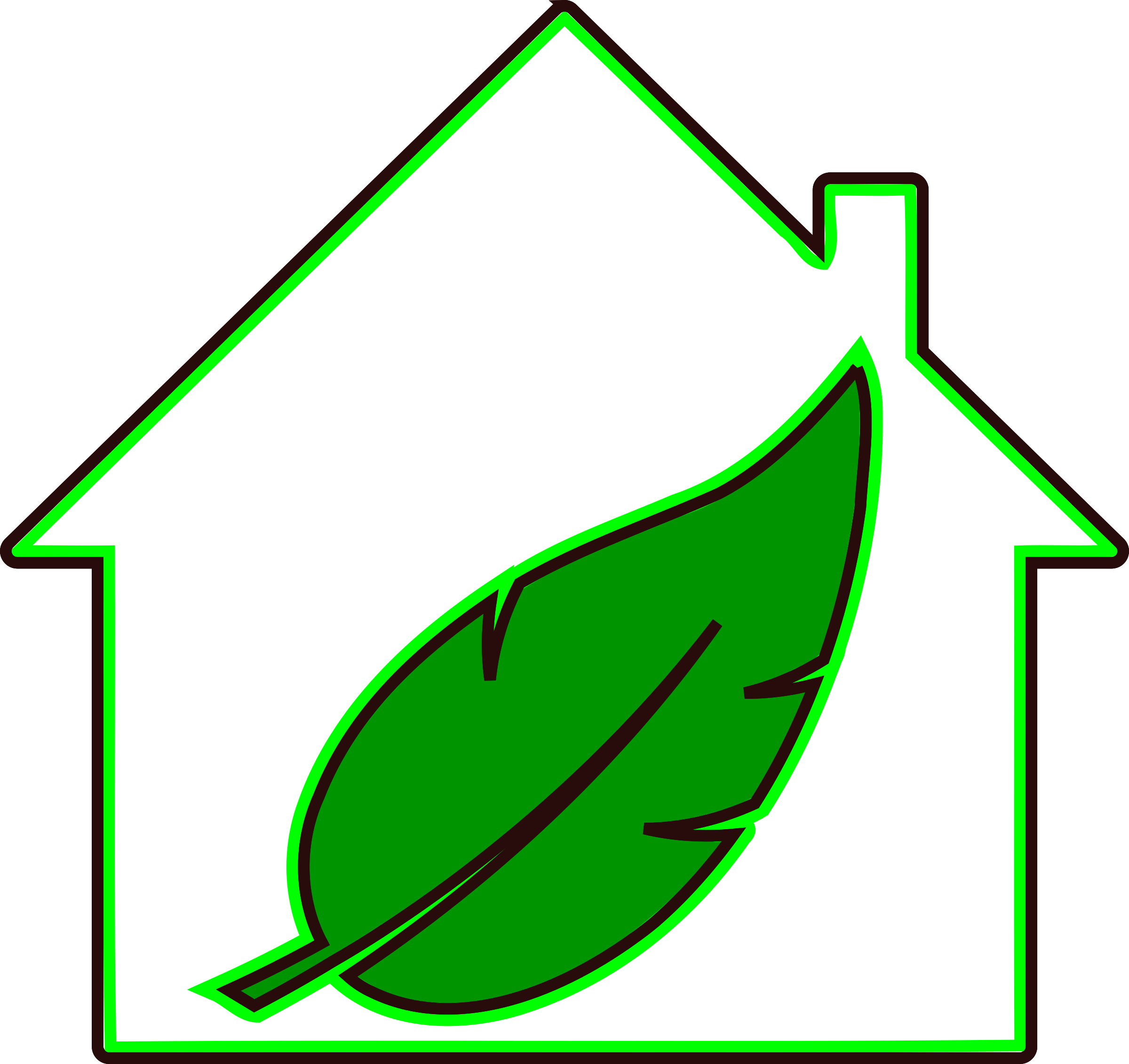 Log in | Sign Up Upload Clipart: https://openclipart.org/detail/213155/green-home