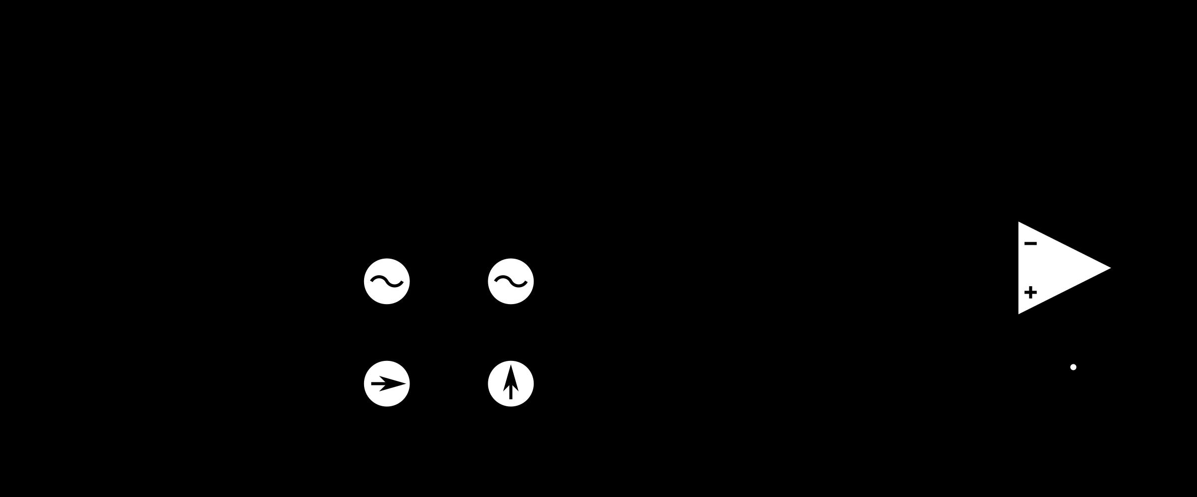 Transparent Capacitor Symbol