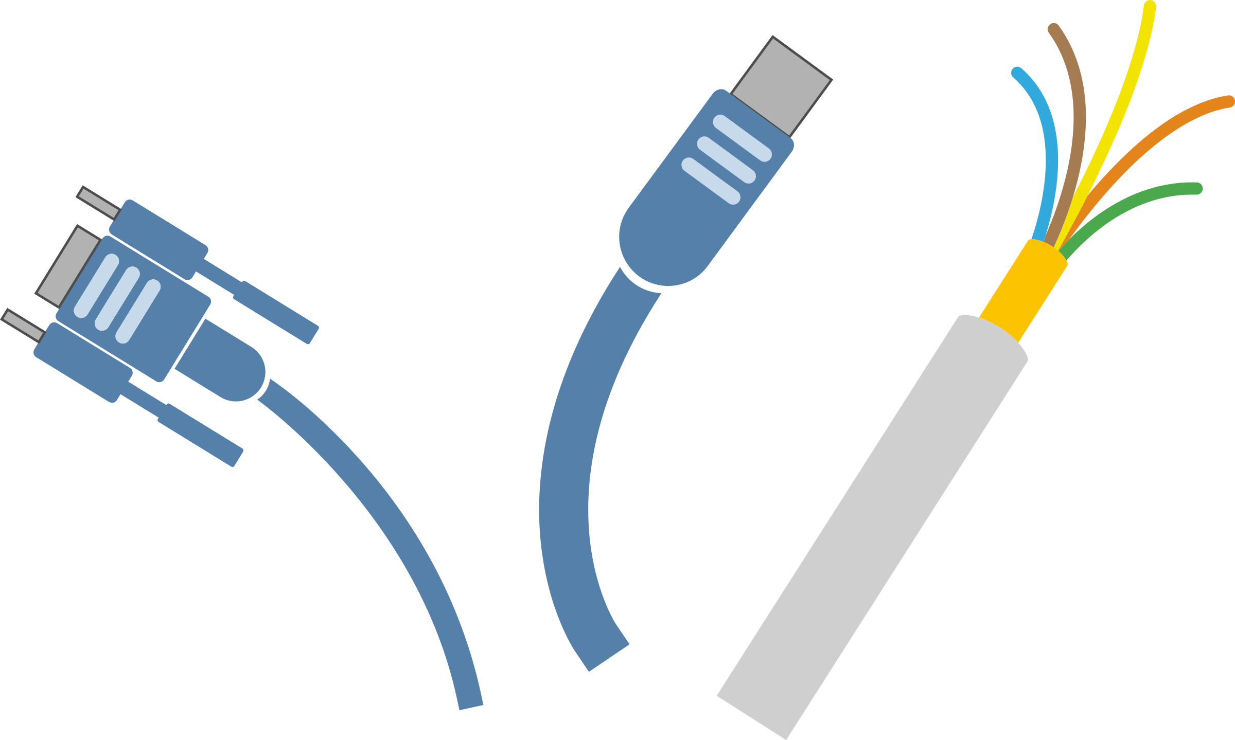 computer cables by enolynn
