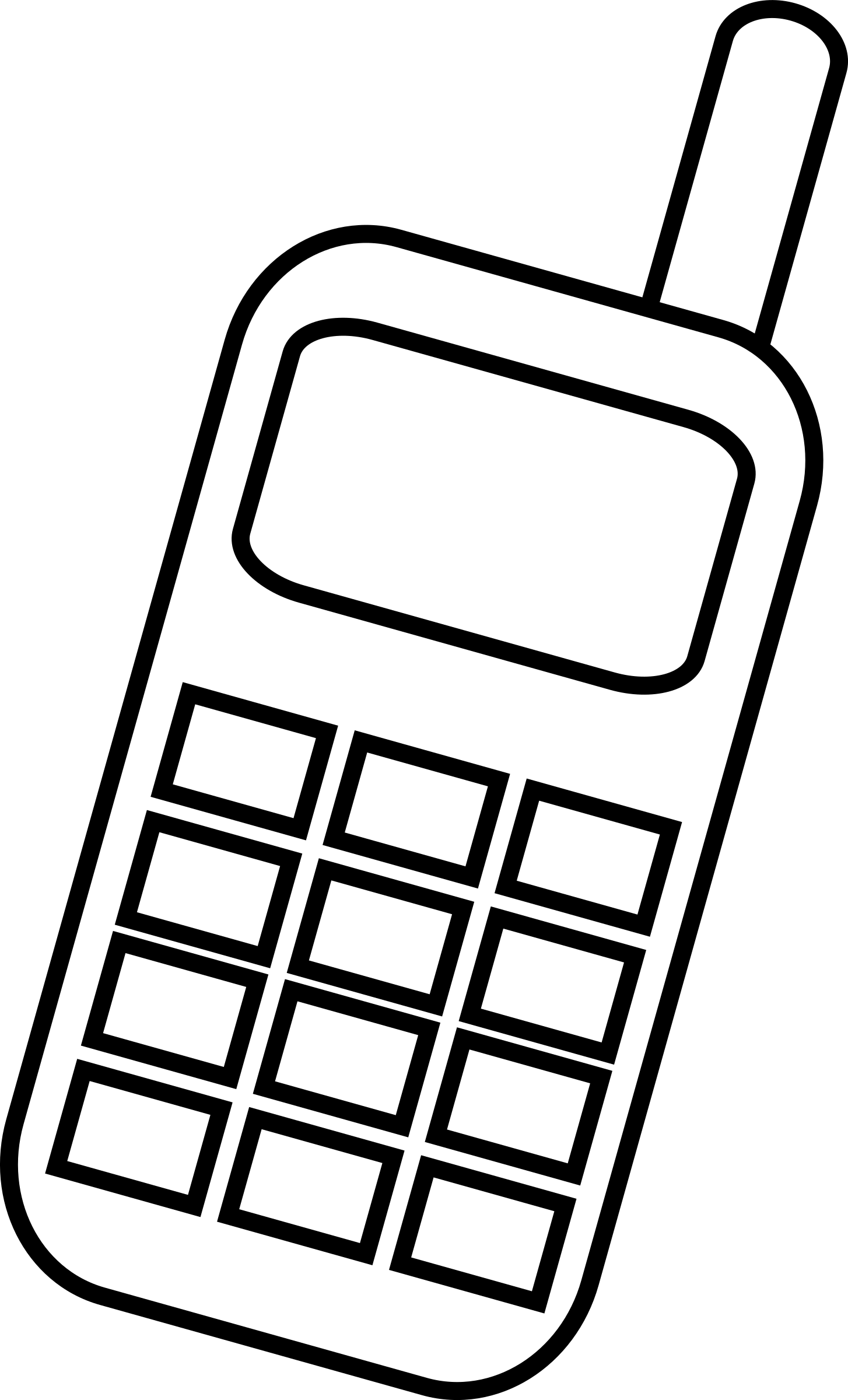 Icon - mobile phone by krzysiu