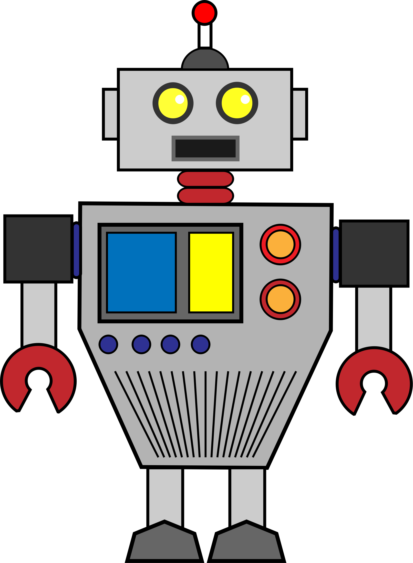 clipart robot rh openclipart org