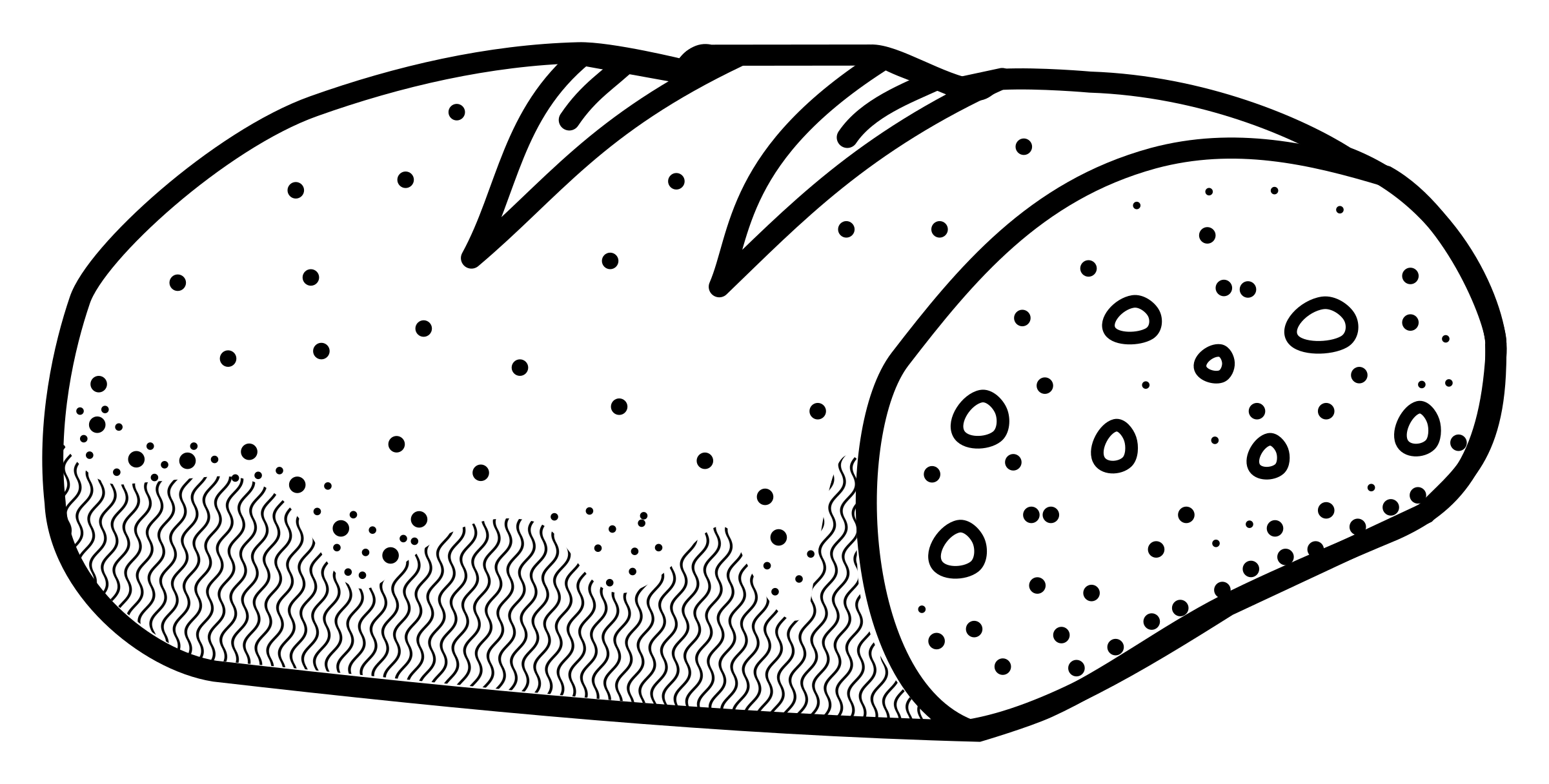 bread - lineart by frankes
