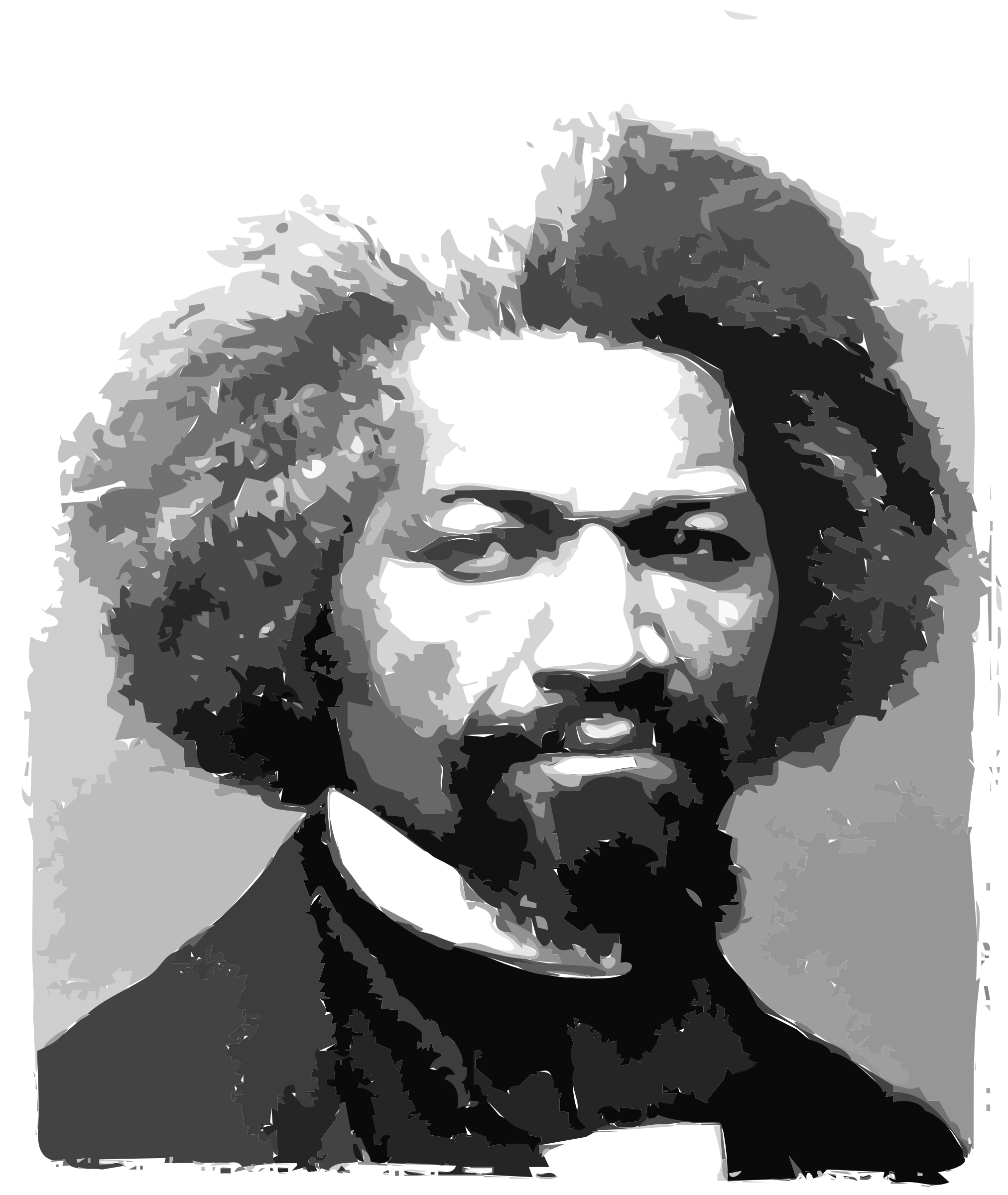Frederick Douglass Portrait by rejon