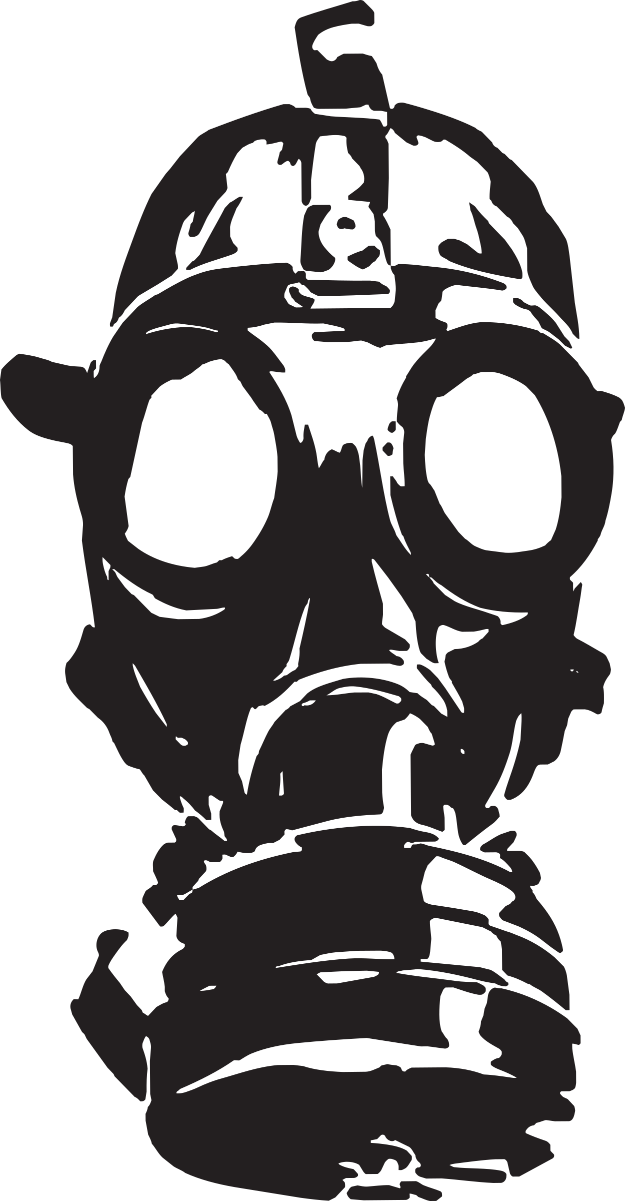 clipart gas mask rh openclipart org funny gas mask clip art gas mask girl clipart