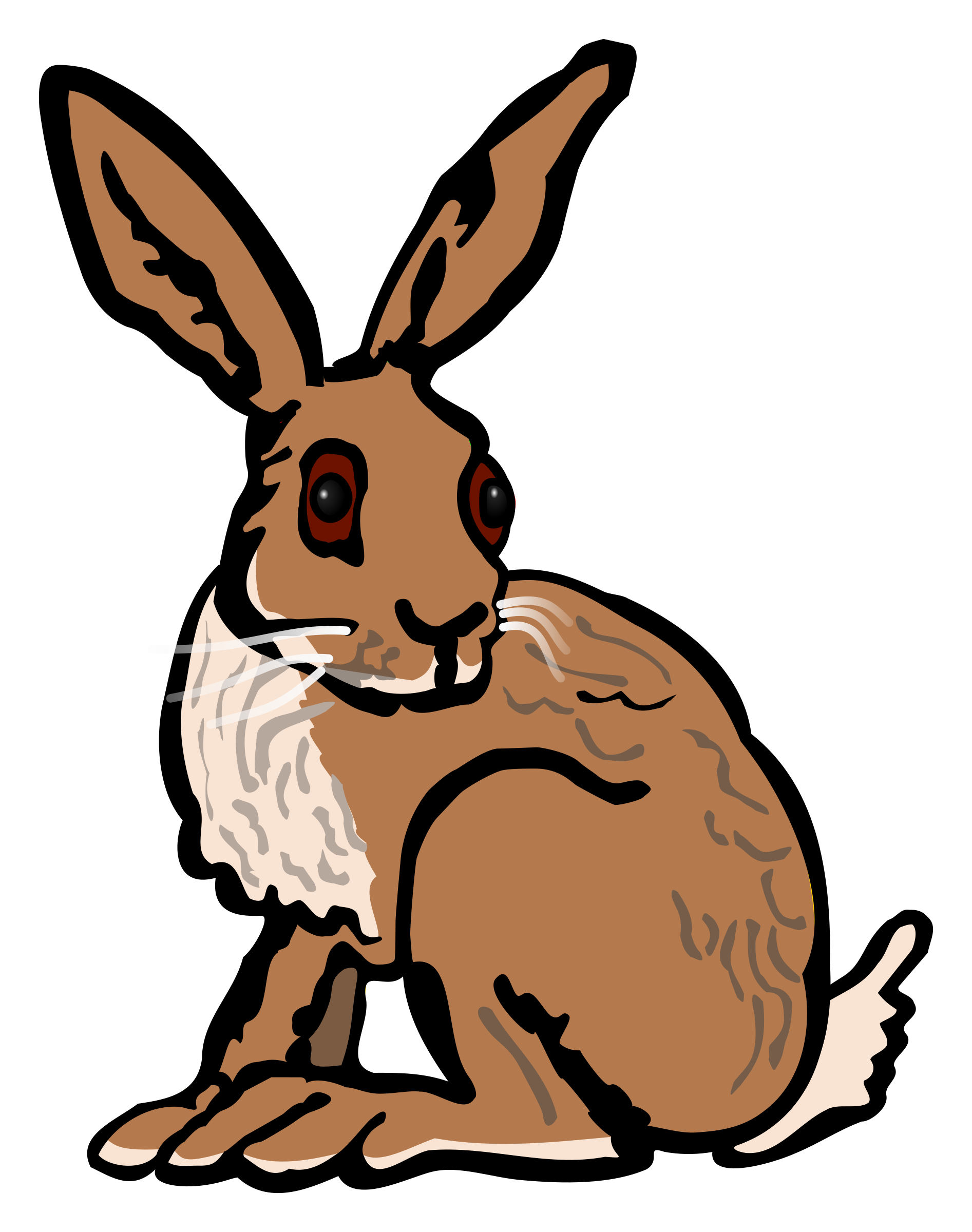 Hare - coloured by frankes