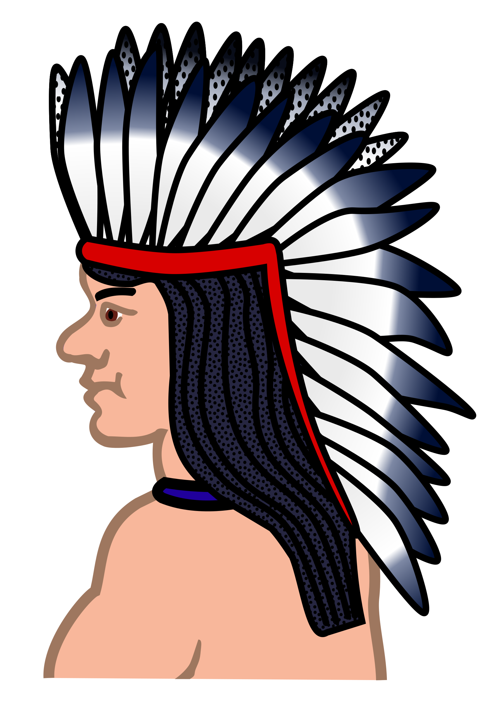 native american - coloured by frankes