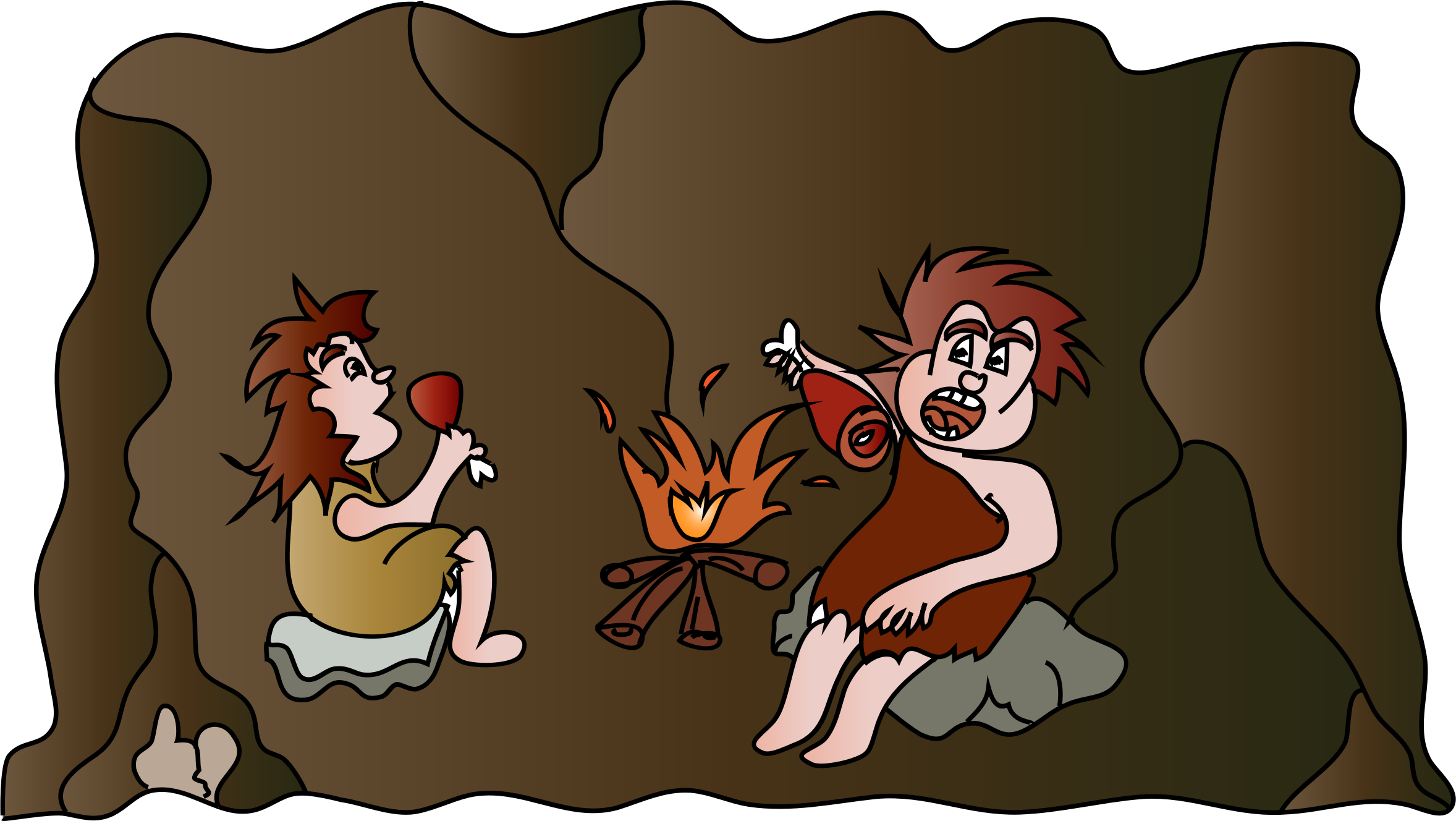 Cave lunch by spevi