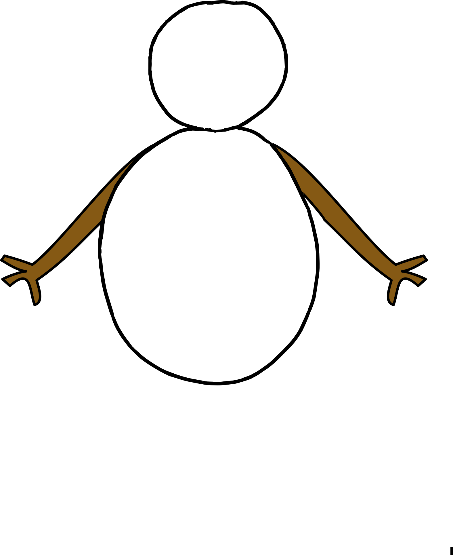 simple snowman by spevi