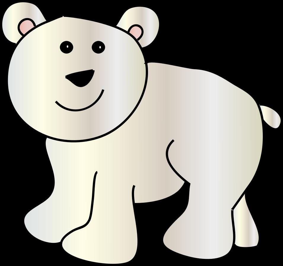 Clipart - polar bear