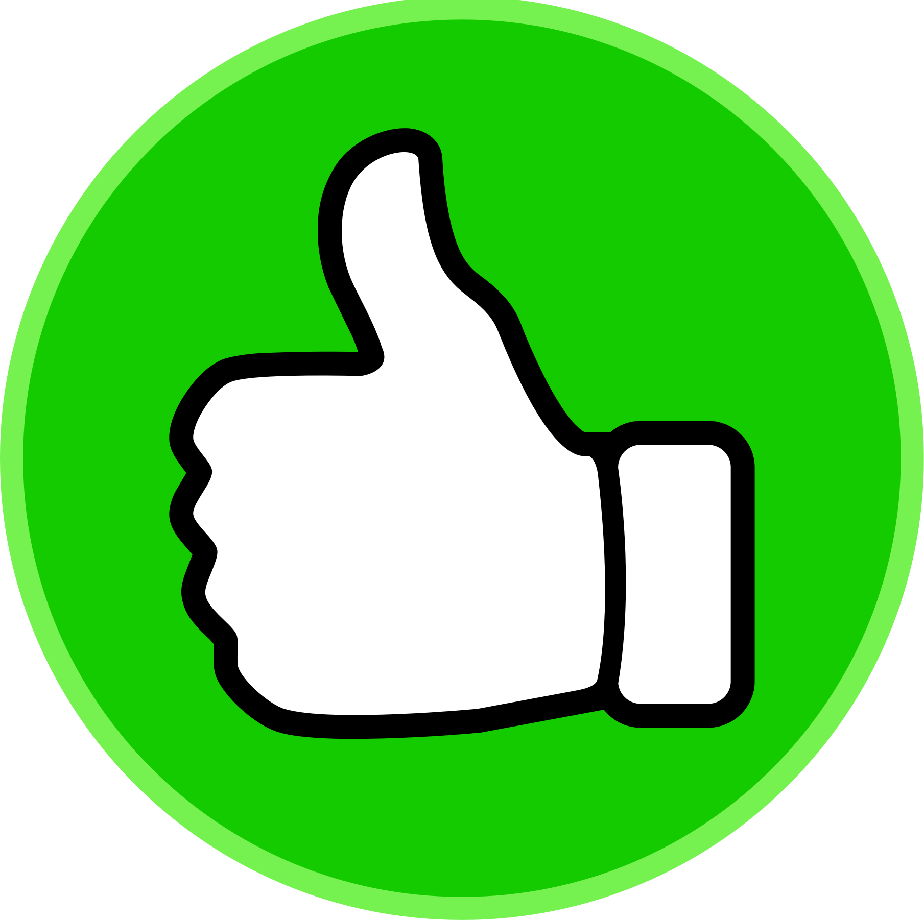 Thumbs Up Circle