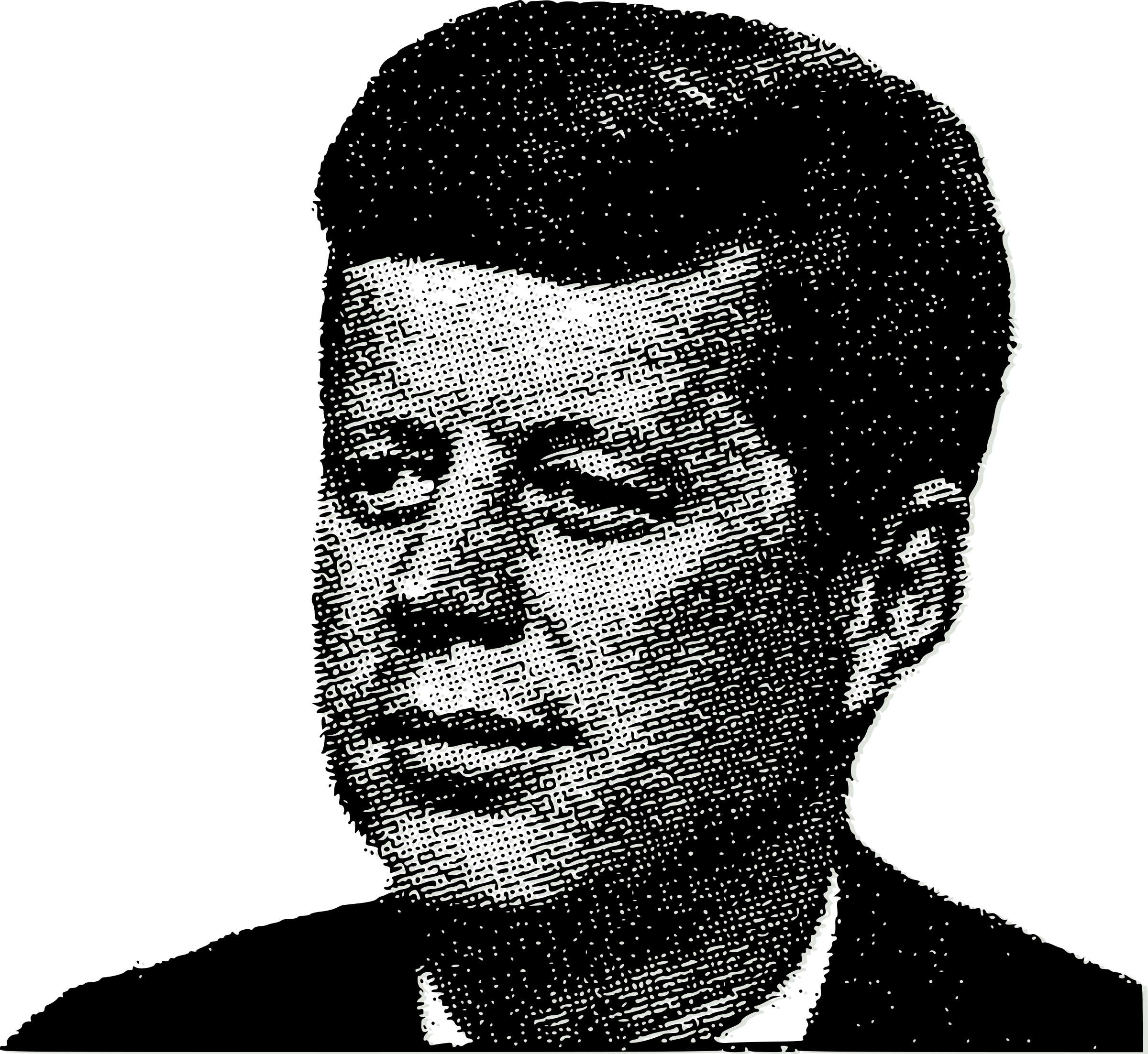 JFK's Face by j4p4n